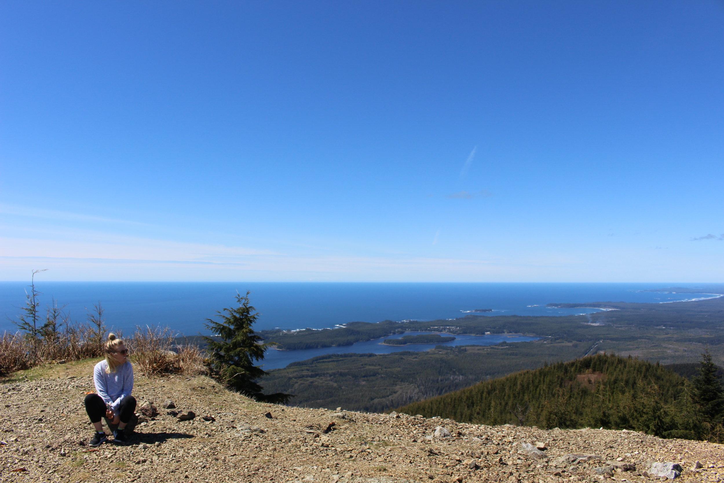 Top of Mt. Ozzard