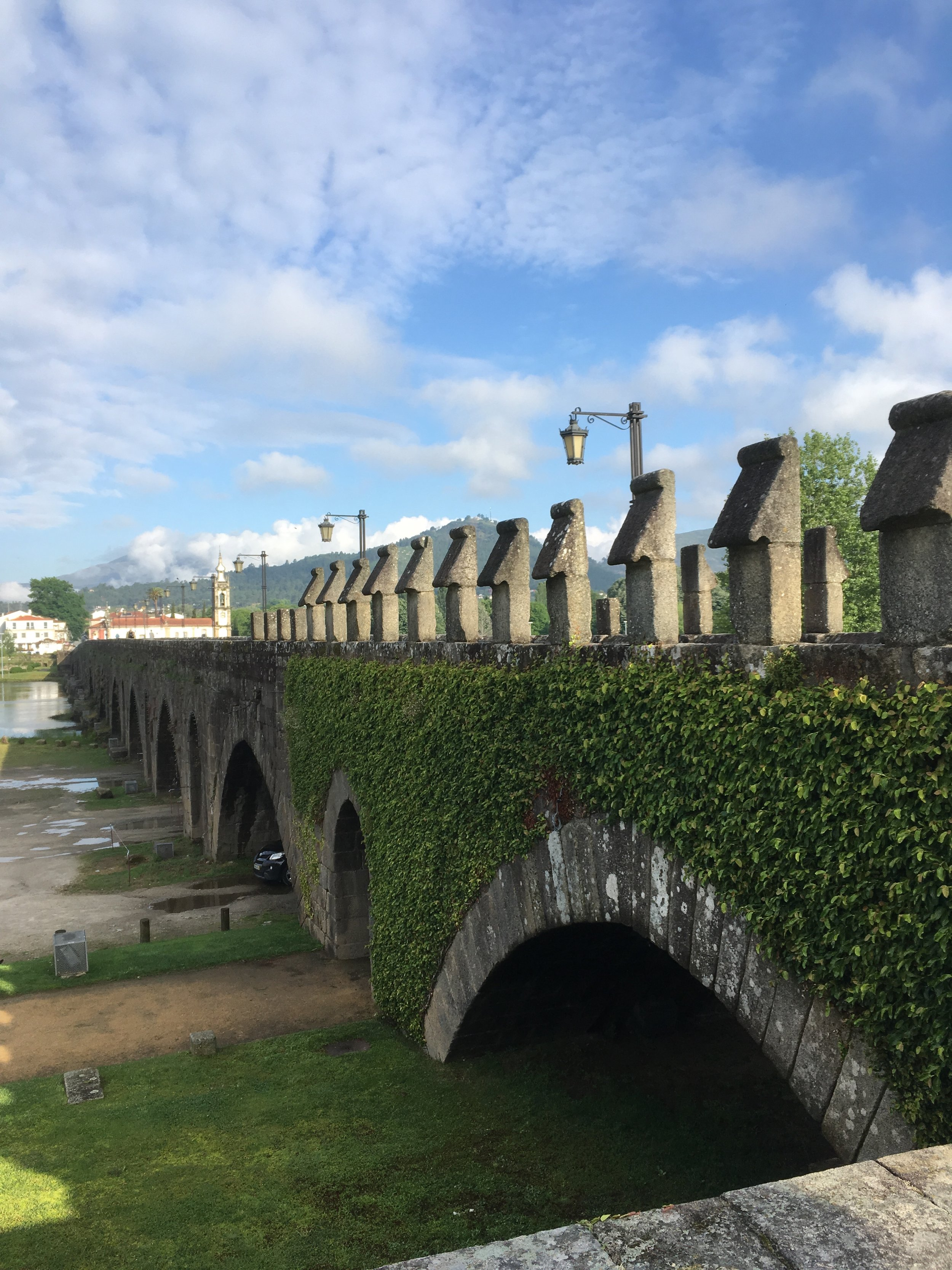 The beautiful Medieval bridge we crossed at the beginning of our day
