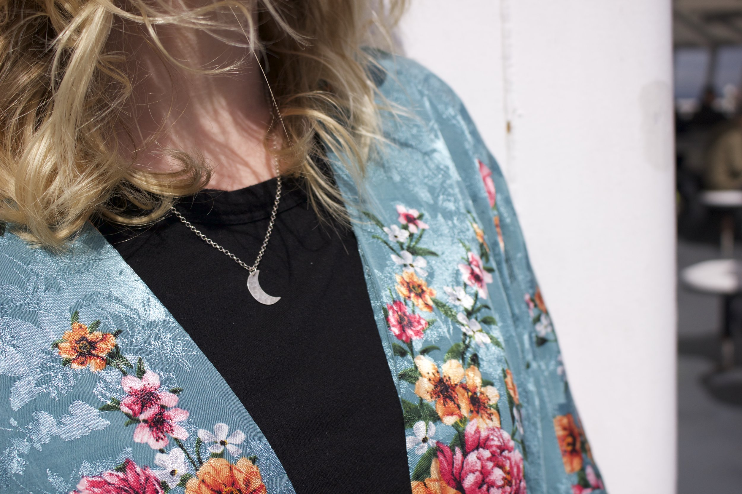 A close up of my necklace by    Dani Bartlett