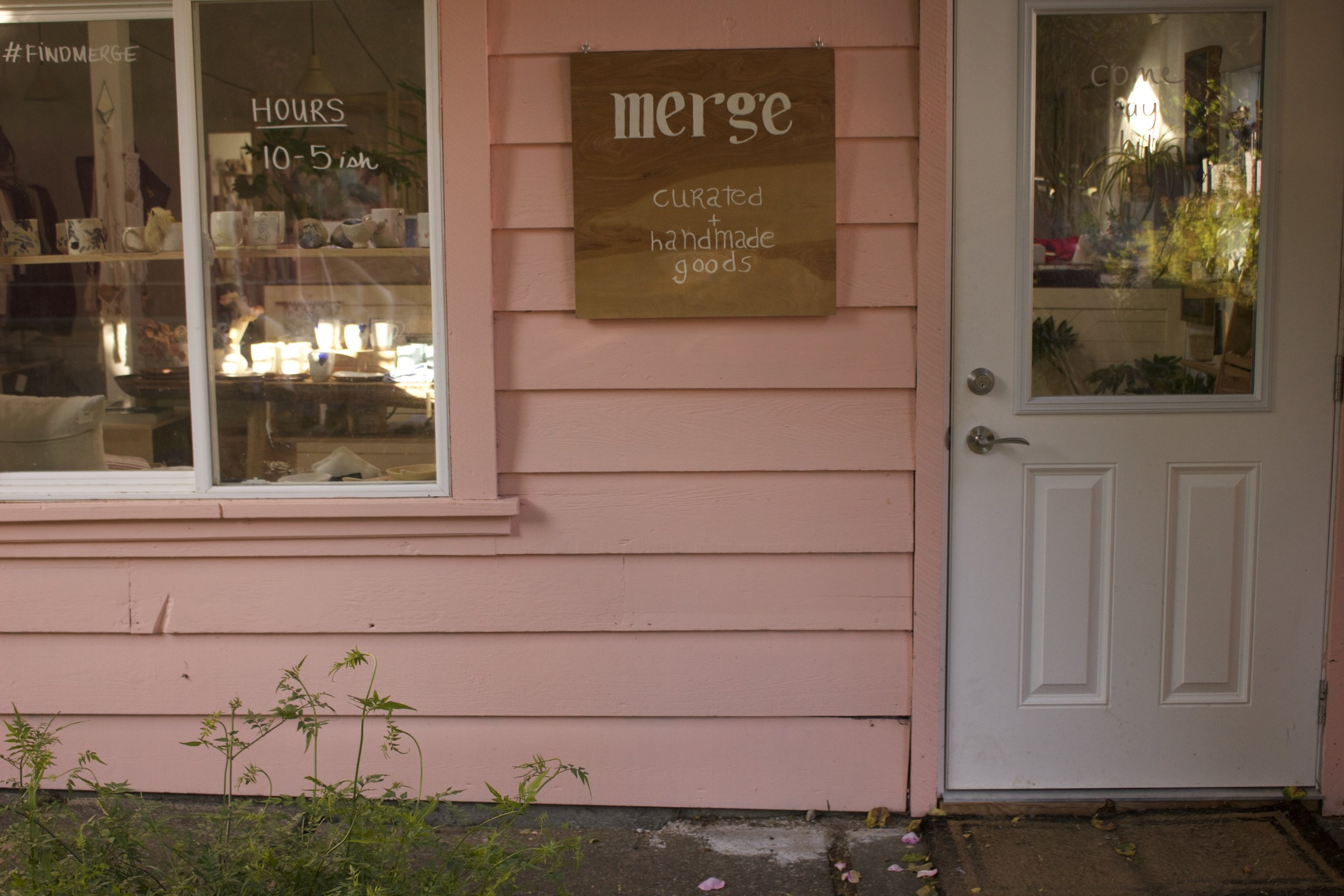 Merge, such a beautiful shop in the heart of Tofino