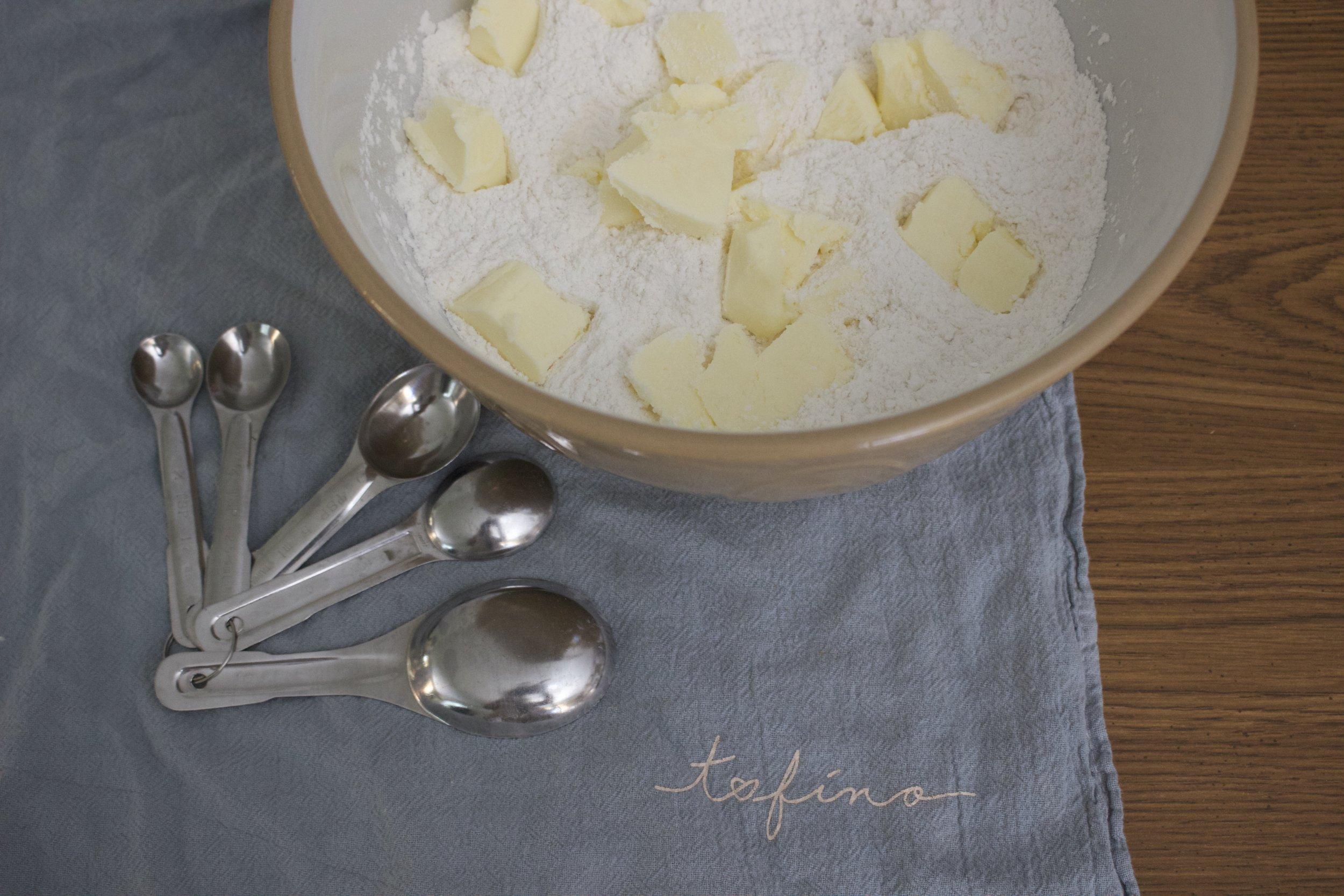 Cutting my butter in
