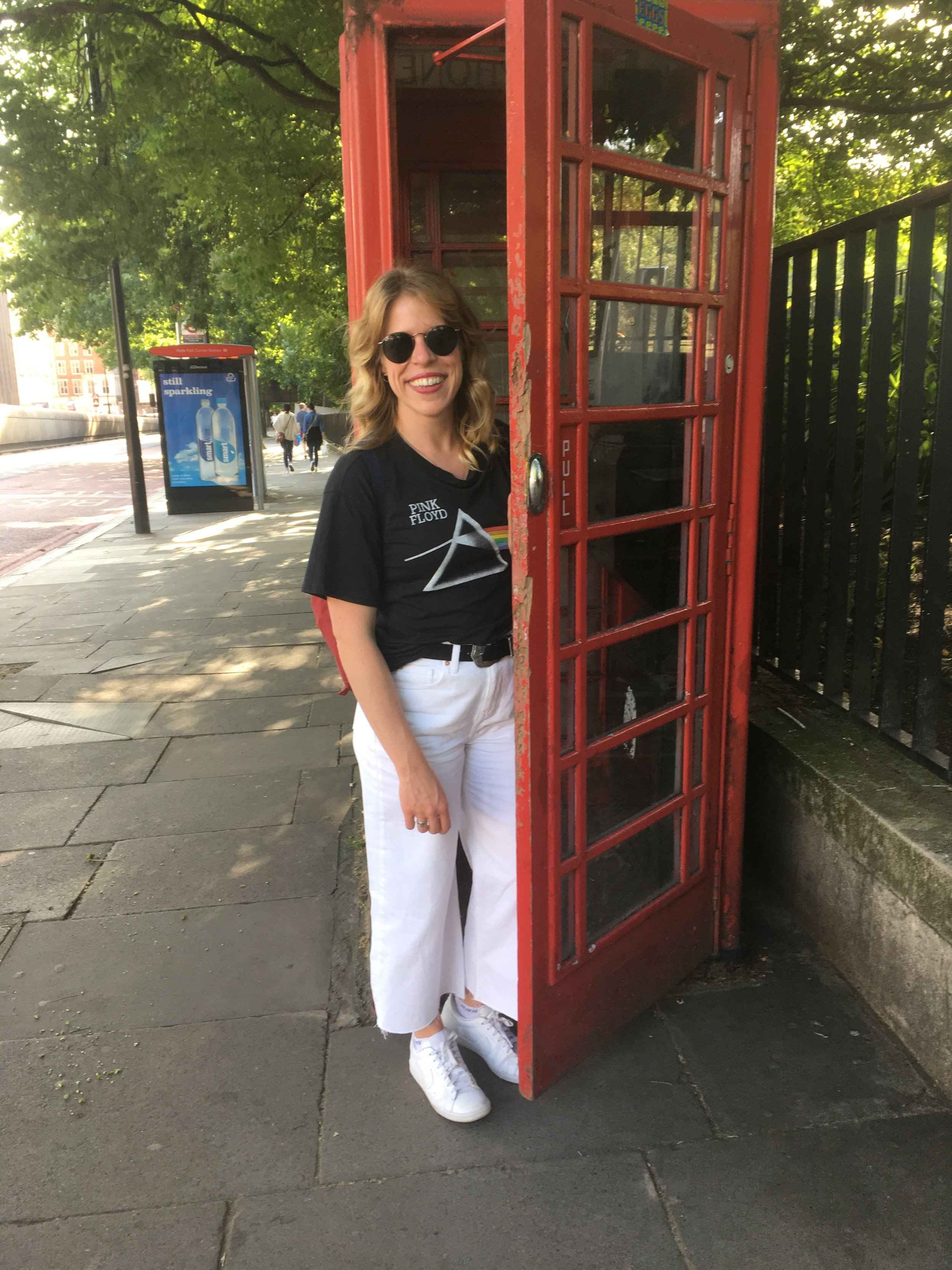 Another tourist shot, posing in a phone booth will never get old!