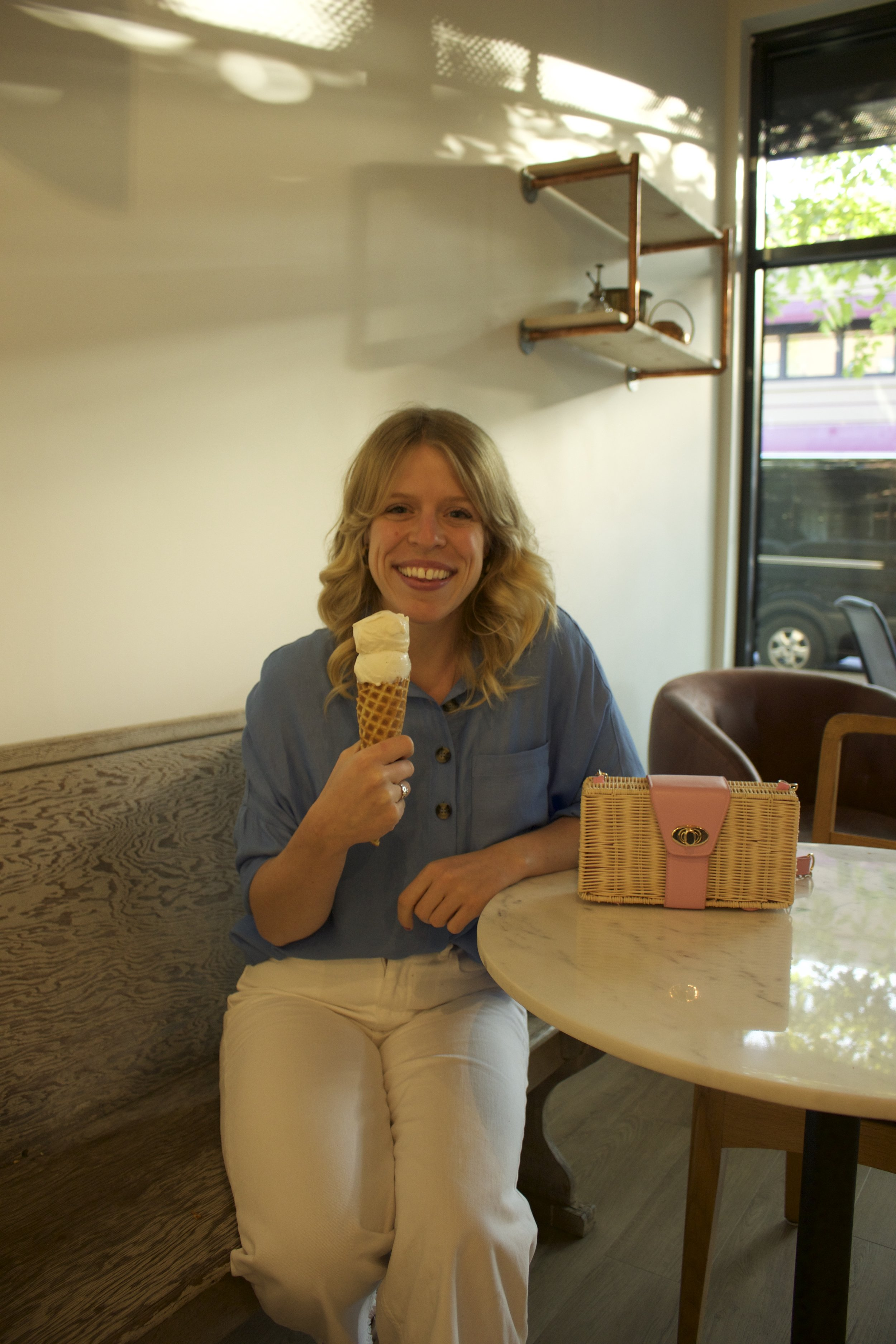 I could live in this ice cream shop!