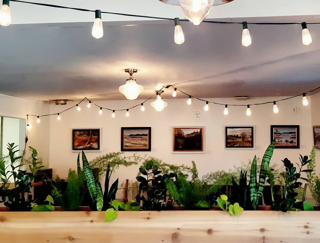 Greenery and plants designed by Sarah make a space not only beautiful but unique