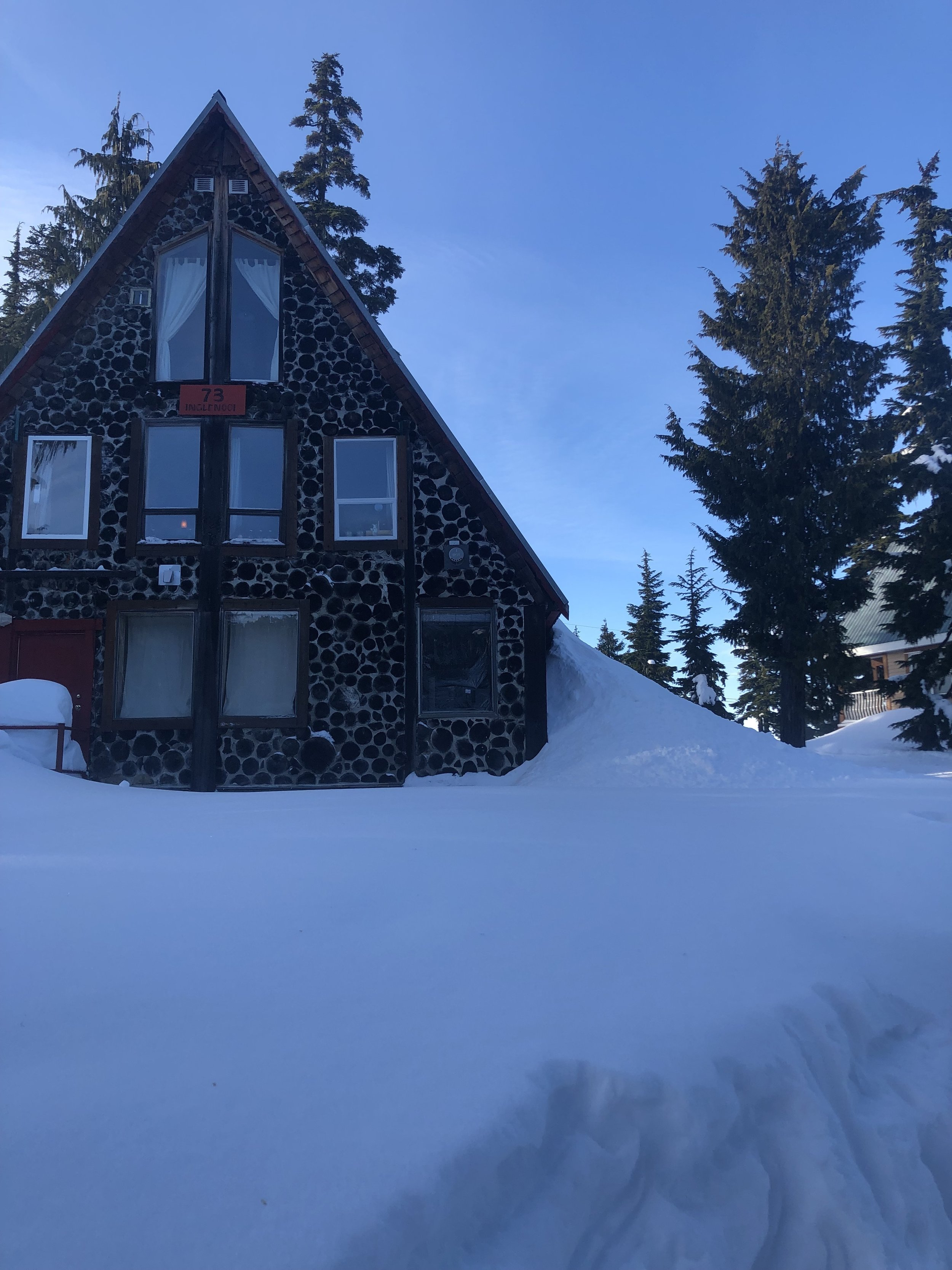 My favourite chalet I saw on the mountain