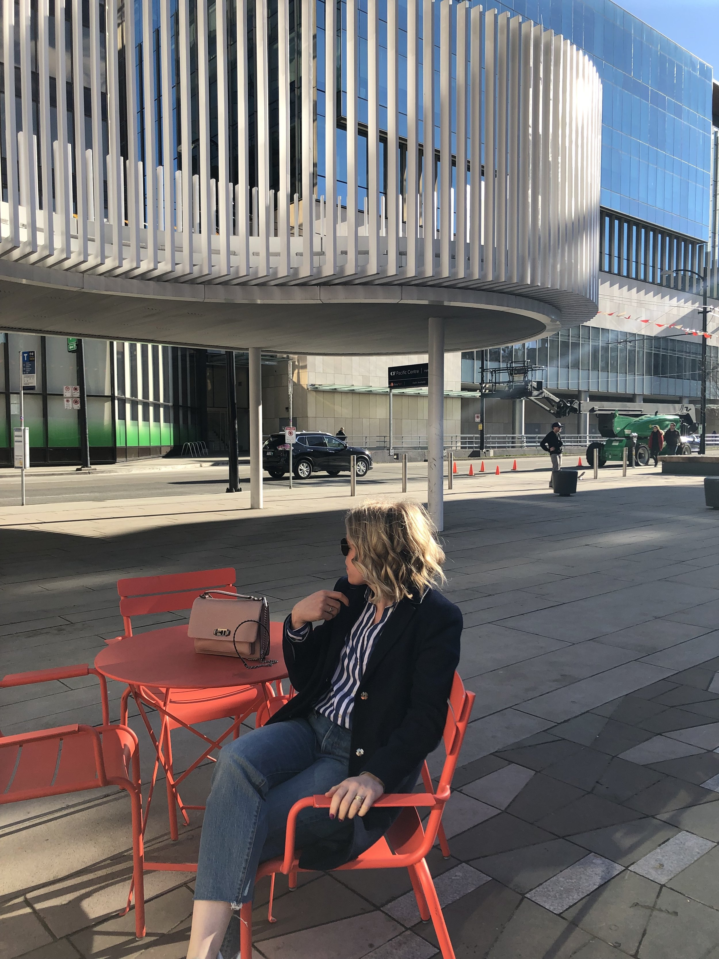 People watching, one of my favourite things to do in a city