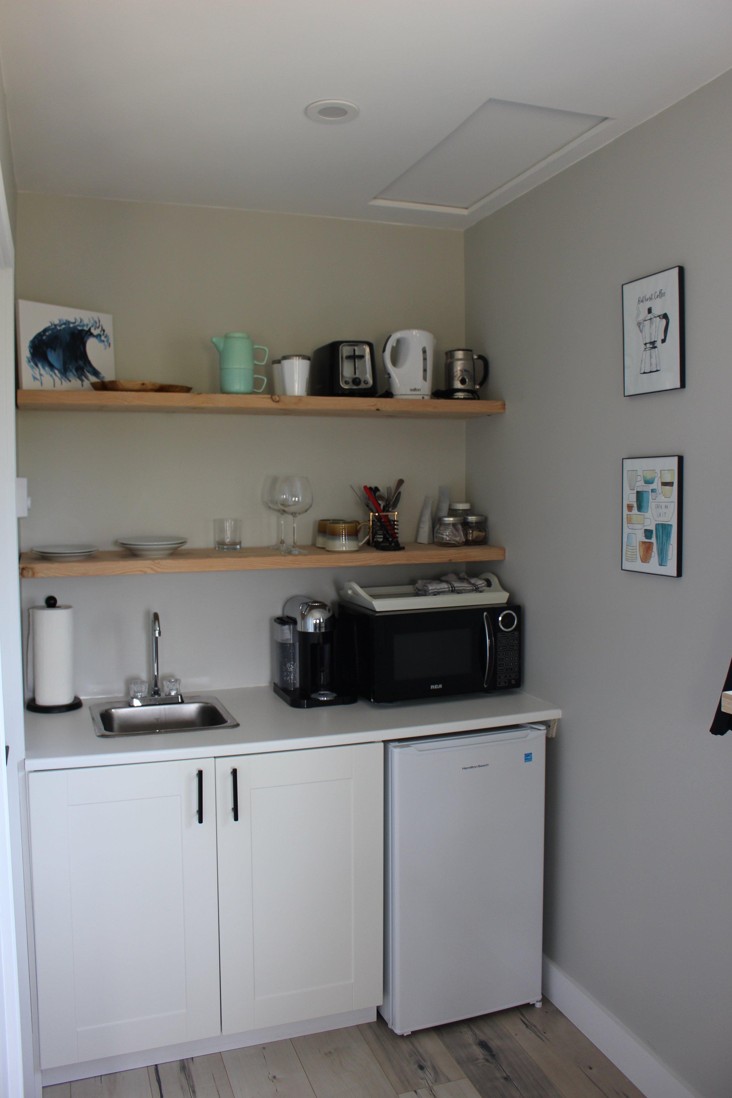 The little kitchenette
