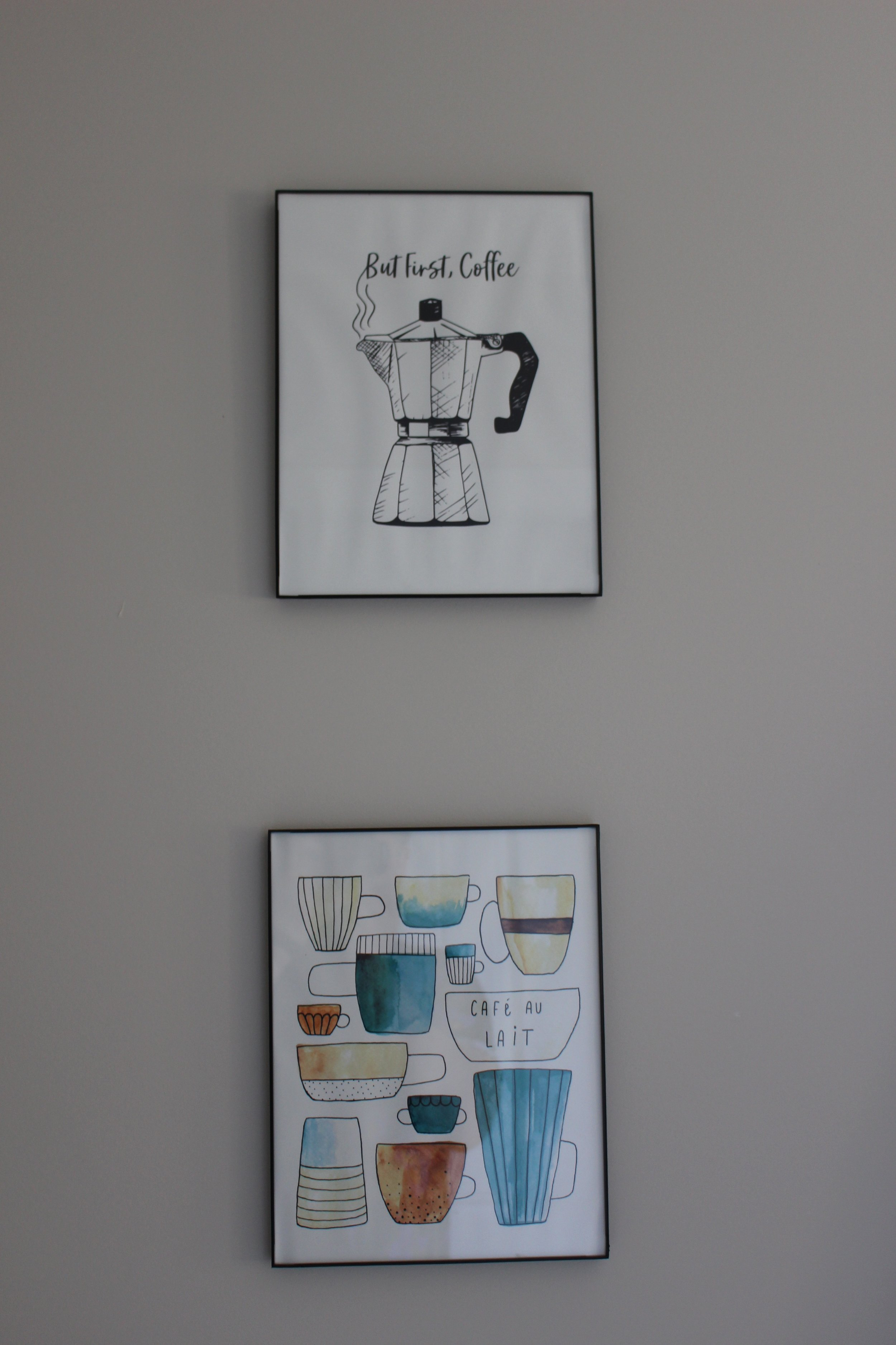 Such attention to the cutest details like these framed prints