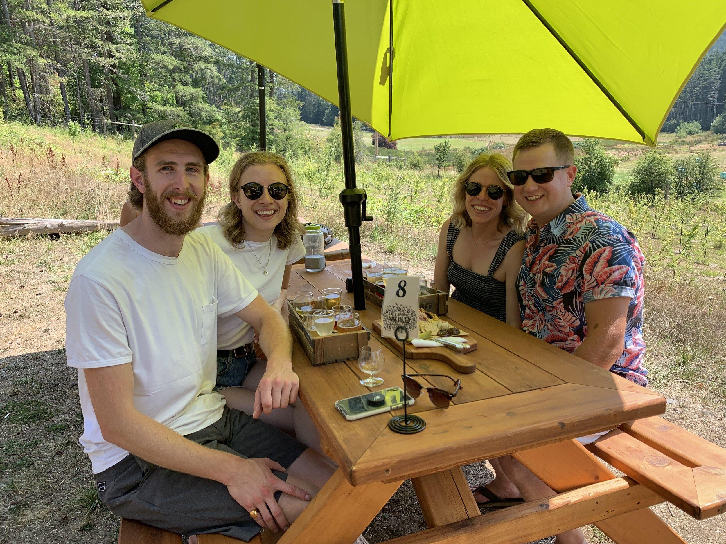 Devon, Anna, me and Dave!