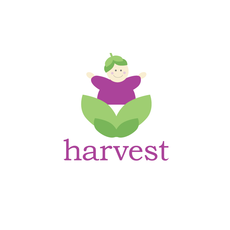 Logo designed for as a fundraiser for Harvest, A Northwest Mother's Milk Bank.