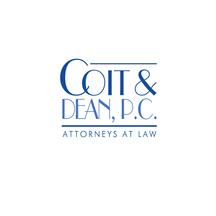 LOGO CREATED FOR THE LAW FIRM OF COIT AND DEAN IN PORTLAND, OREGON