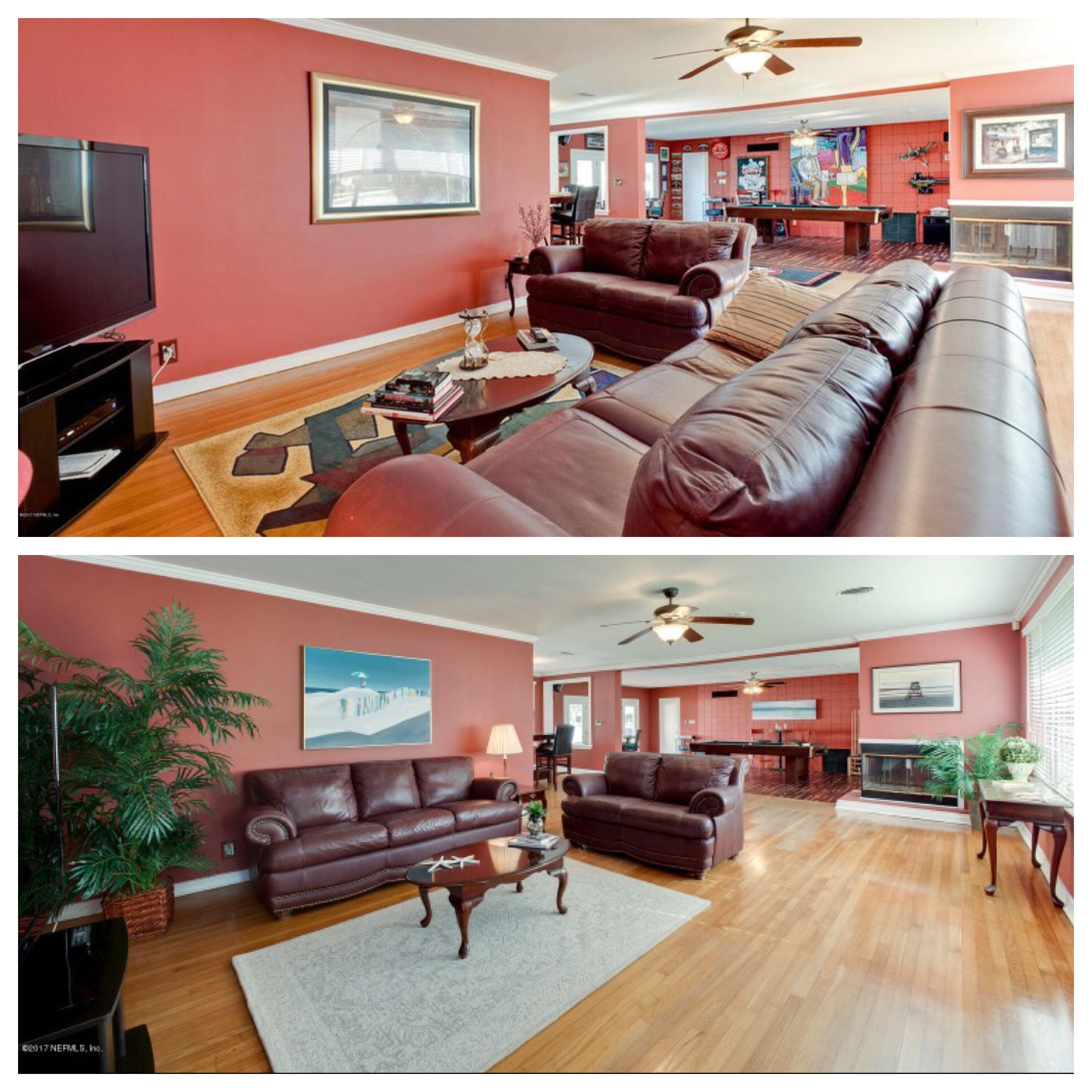 Before & After Occupied Staging