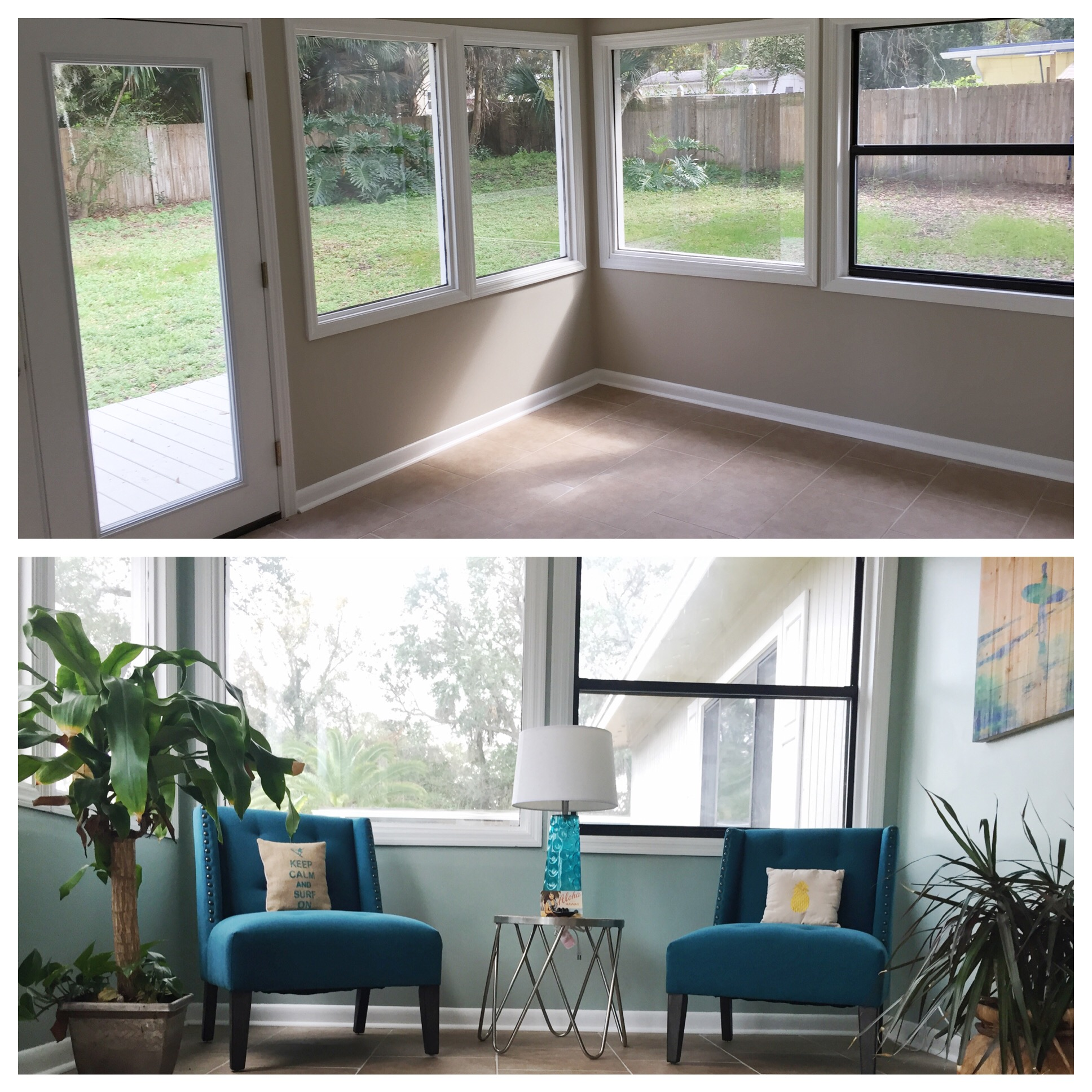 Before & After Vacant Staging