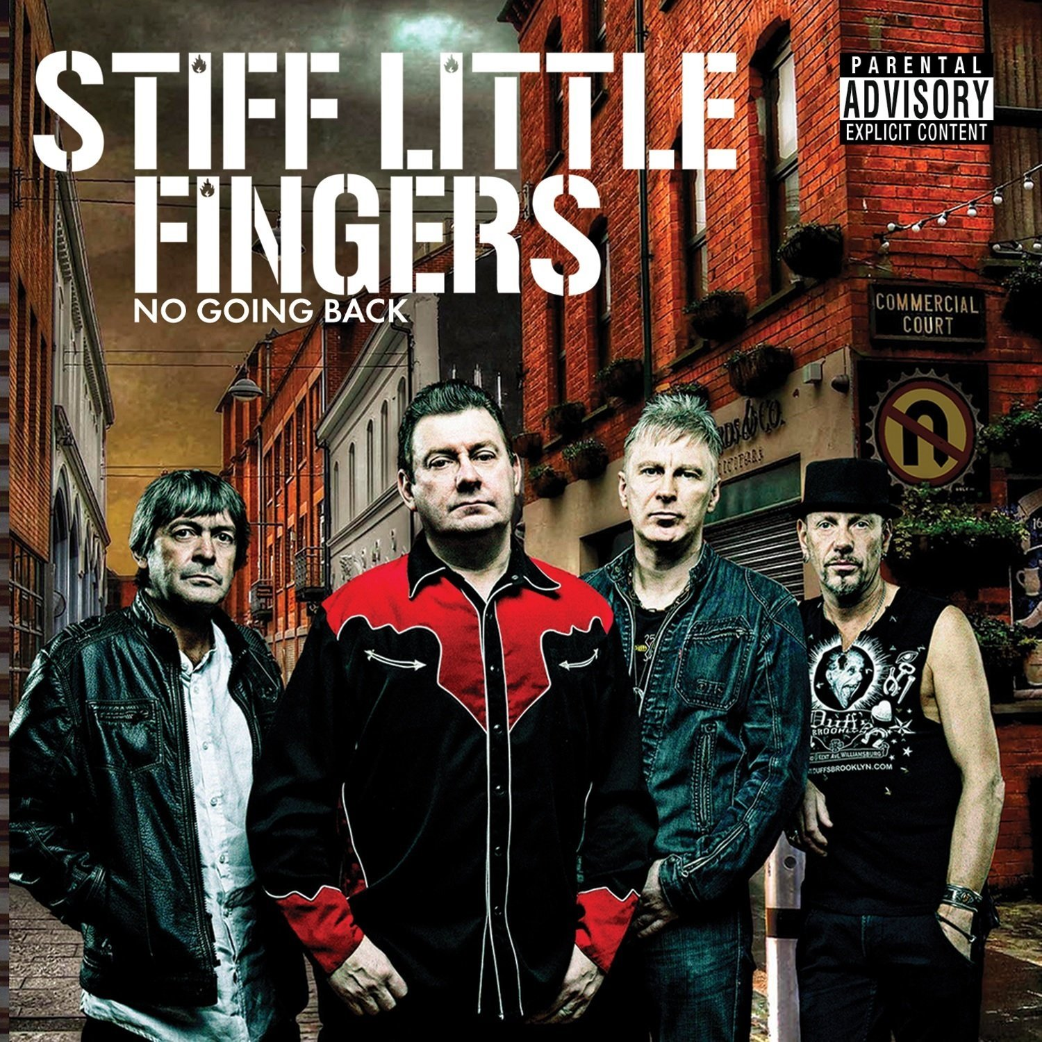 Stiff Little Fingers - No Going Back (AE)