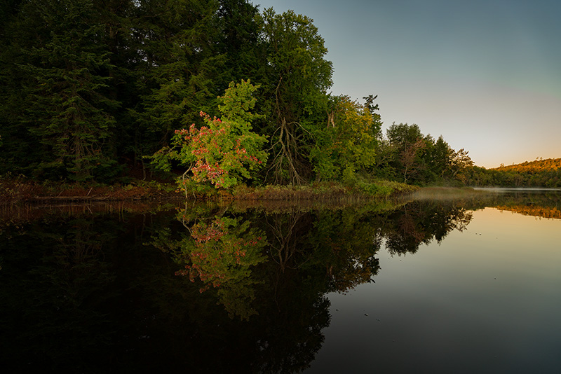 Mirror Lake, Porcupine Mountains Wildernes, Michigan