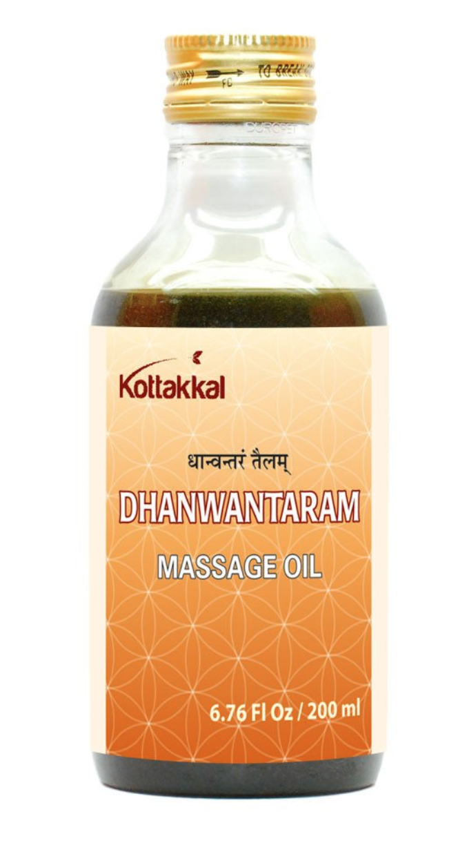 Kottakal Dhanwantaram Tailam$16.95 - Speaking of ayurveda, does your yogi honey love talking about their abhyanga (self-massage) practice? Abhyanga is a self-care practice that provides many benefits including easing soreness, decreasing inflammation, and improving skin tone.Dhanwantaram Tailam (oil pictured here), is most commonly used for self-care massage by mothers postpartum. So if your yogi loved one has recently become a mama, giving them a bottle of this is like gifting them 10 minutes of pure peace.I picked up a few bottles of Dhanwantaram Tailam on my last trip to India, and since then, Kottakal has been the closest in quality to those I've brought home. This is mainly because Kottakal products are produced by Arya Vaida Sala (AVS) in Kerala, India.Kottakal oils are excellent quality. They are developed and produced in two modern manufacturing facilities fully equipped with quality control labs. Kottakal is a charitable institution dedicated to the propagation of authentic Aryuveda. They also grow and cultivate Aryuvedic medicinal plants, especially those that are threatened in the wild.