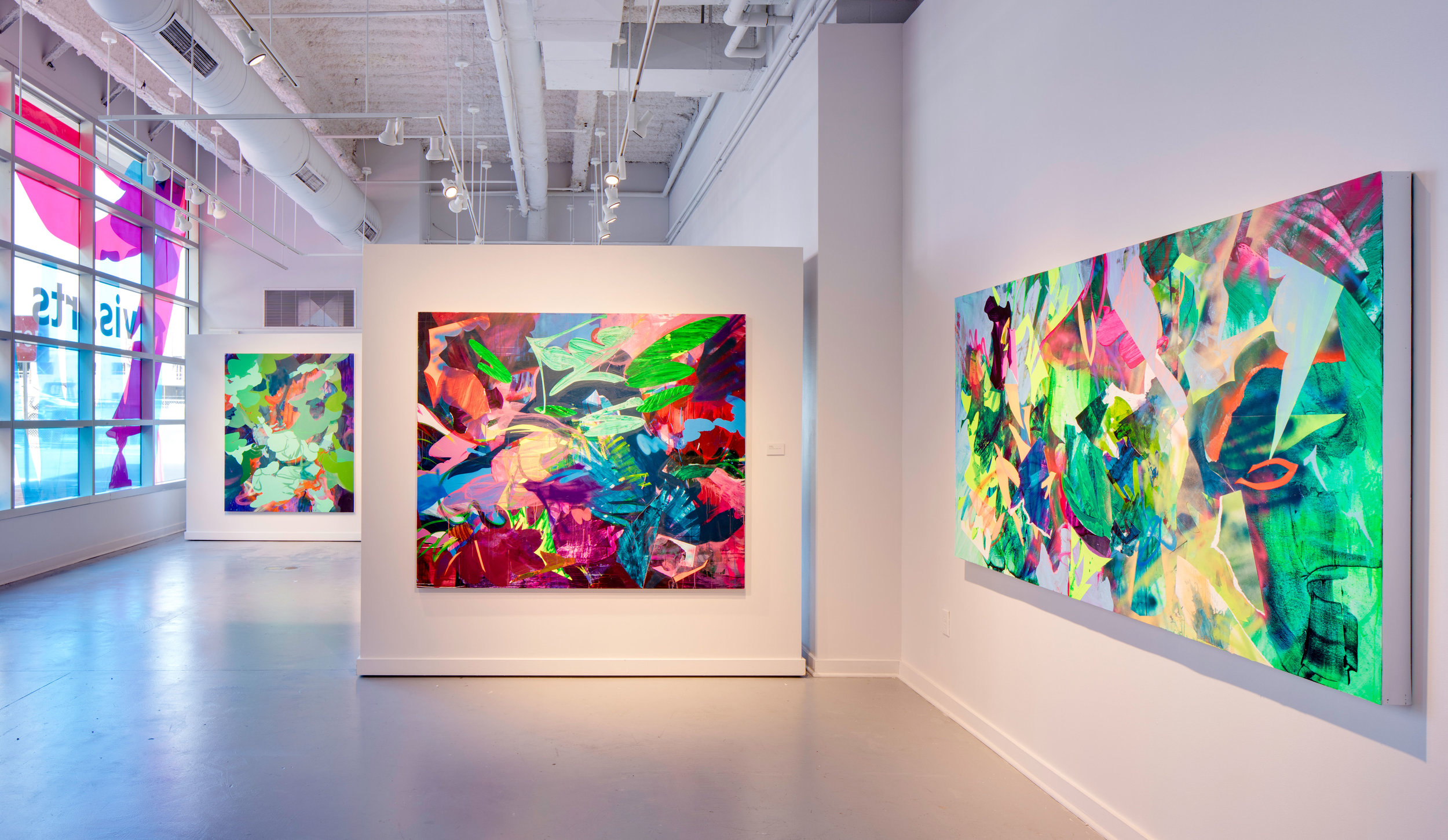 First Cut  installation view, 2016, Gibbs Street Gallery, VisArts, Rockville, Maryland