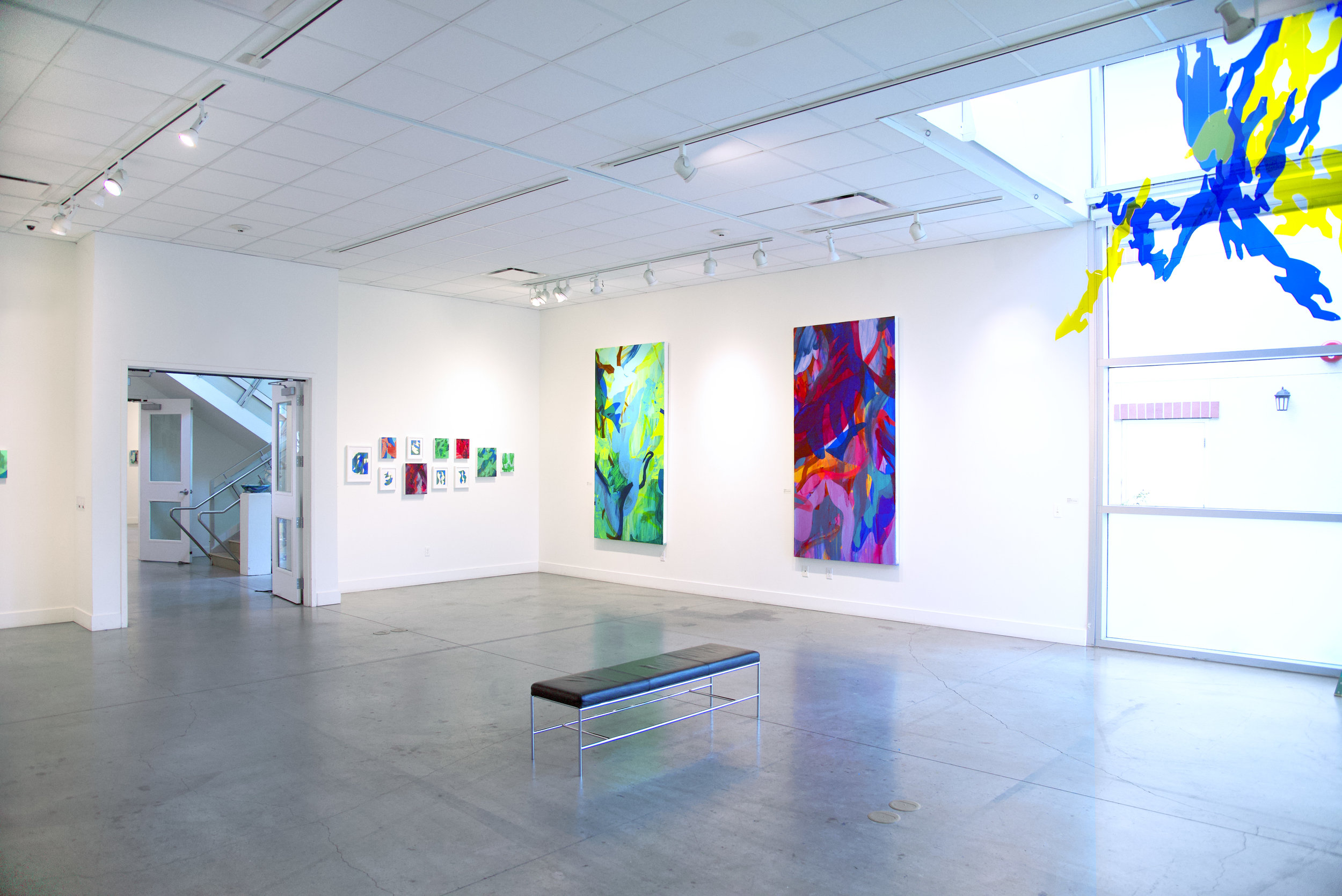 Light Matter  installation view, 2018, Pence Gallery, Davis, California