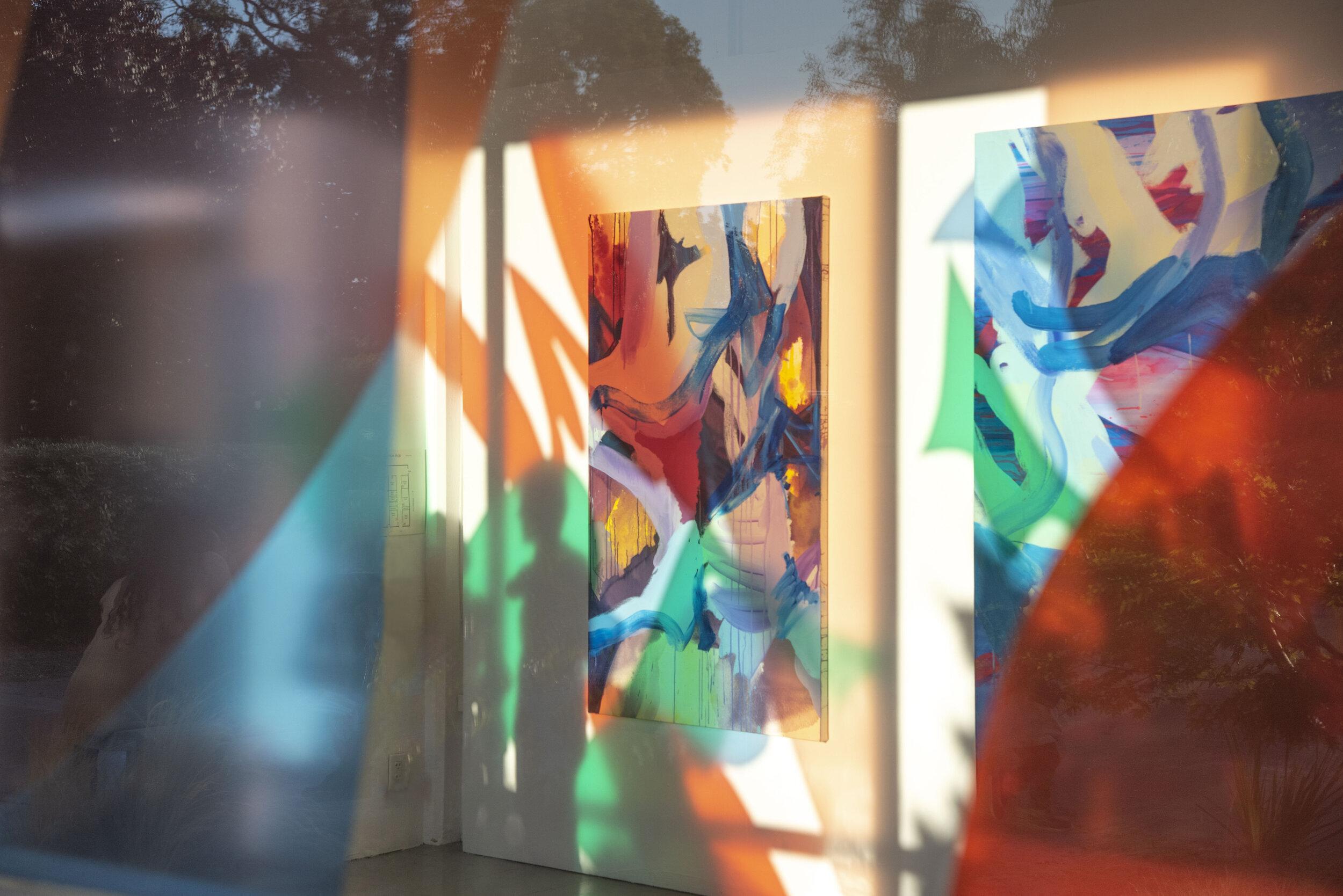Thresholds  installation view ,  2019, Richmond Art Center, Richmond, California