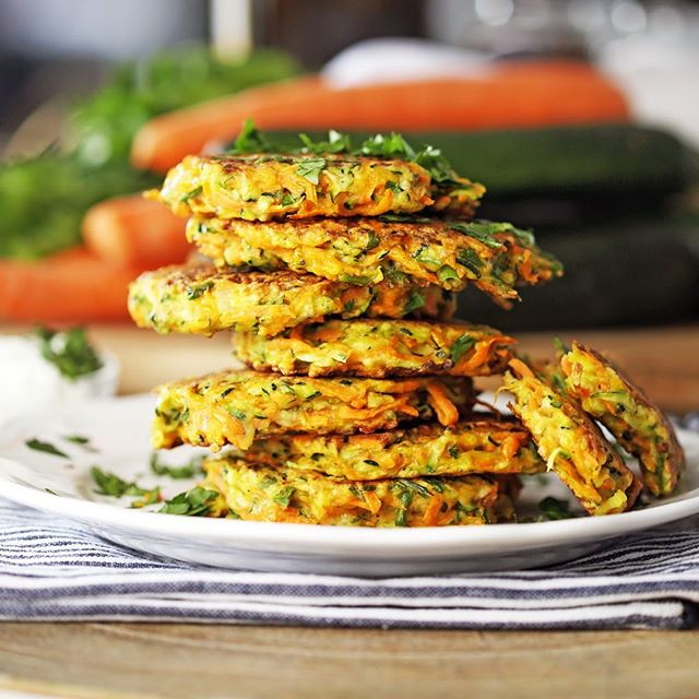 These tasty Zucchini Carrot Pancakes are a go-to summer recipe for my family. So simple to put together. . Want the recipe? Click @yay_for_food for the blog link or copy and paste: https://www.yayforfood.com/recipes/zucchini-carrot-pancakes . . . #yayforfood #ontheblog #foodblogger #f52grams #zucchini #hautecuisines #summerrecipes #foodstagram ##healthyrecipes #eatingfortheinsta #trymyrecipe  #eatingallthetime #hungry #comfortfood #foodgawker #buzzfeedfood #thefeedfeed #onmytable #thekitchn #easydinners #tastingtable #heresmyfood #yahoofood #foodphotography #eeeeeats #huffposttaste #beautifulcuisines