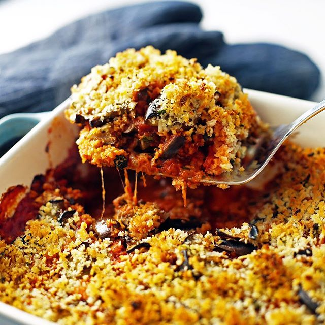 Baked Eggplant Parmesan Casserole has layers of tender eggplant and melty cheese topped with crunchy breadcrumbs! 😍 . Want the recipe? Click @yay_for_food for the blog link or copy and paste: https://www.yayforfood.com/recipes/baked-eggplant-parmesan-casserole . . . #yayforfood #ontheblog #foodblogger #f52grams #eggplant #hautecuisines #summerrecipes #foodstagram ##healthyrecipes #eatingfortheinsta #trymyrecipe  #eatingallthetime #hungry #comfortfood #foodgawker #buzzfeedfood #thefeedfeed #onmytable #thekitchn #easydinners #tastingtable #heresmyfood #yahoofood #foodphotography #eeeeeats #huffposttaste #beautifulcuisines