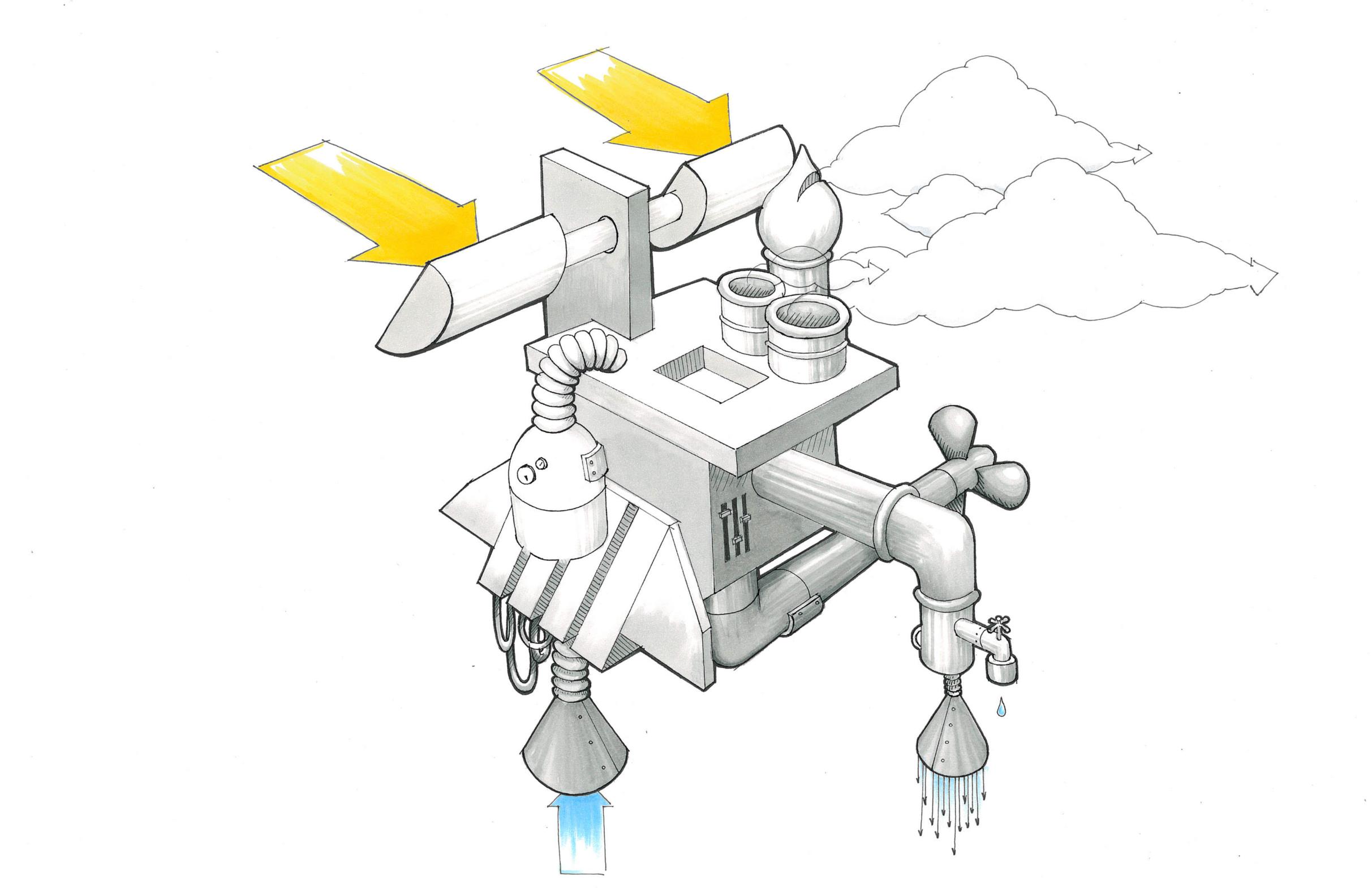 Precipitation Machine