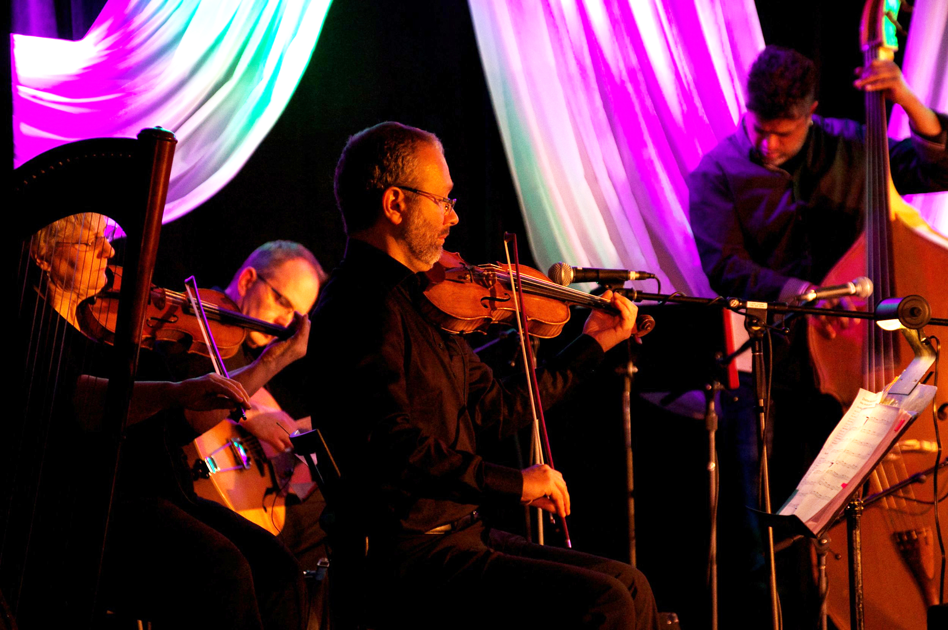 Saturday, January 12  Northern Lights Beer Garden & Ice Bar @ 12:00 pm New Moon Pavilion @ 1:15 pm The Hearth @ 3:00 pm  The Carrot Community Arts Coffeehouse @ 6:15 pm