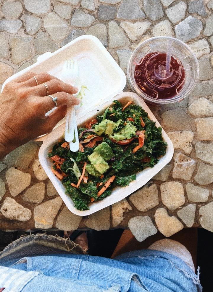 CHOICE HEALTH BAR   in Lahaina for lunch