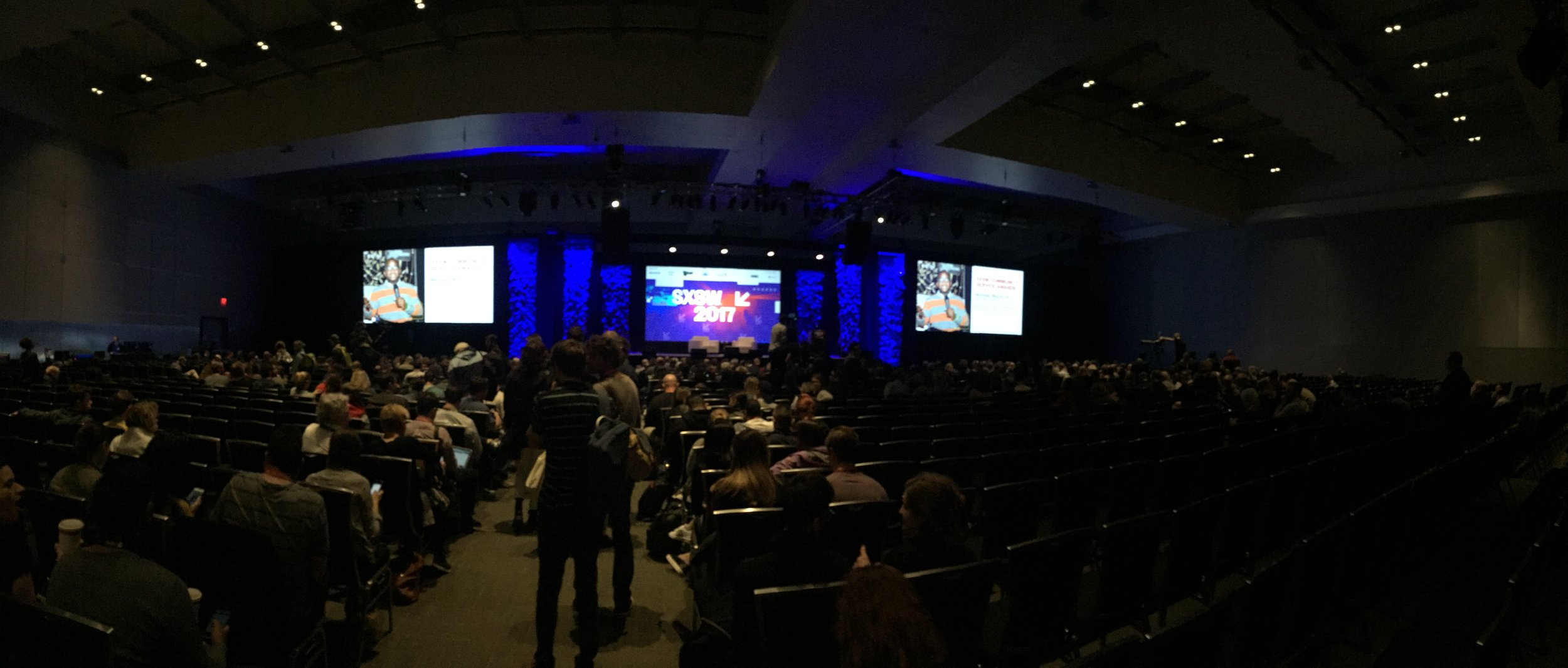 Austin Convention Center.