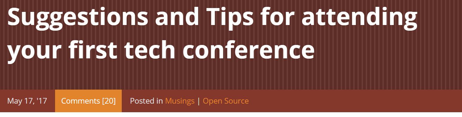 shanselman-conference-tips