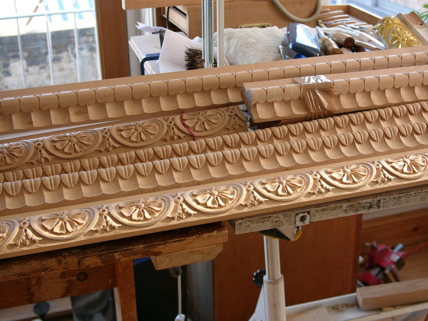 Carved moulding