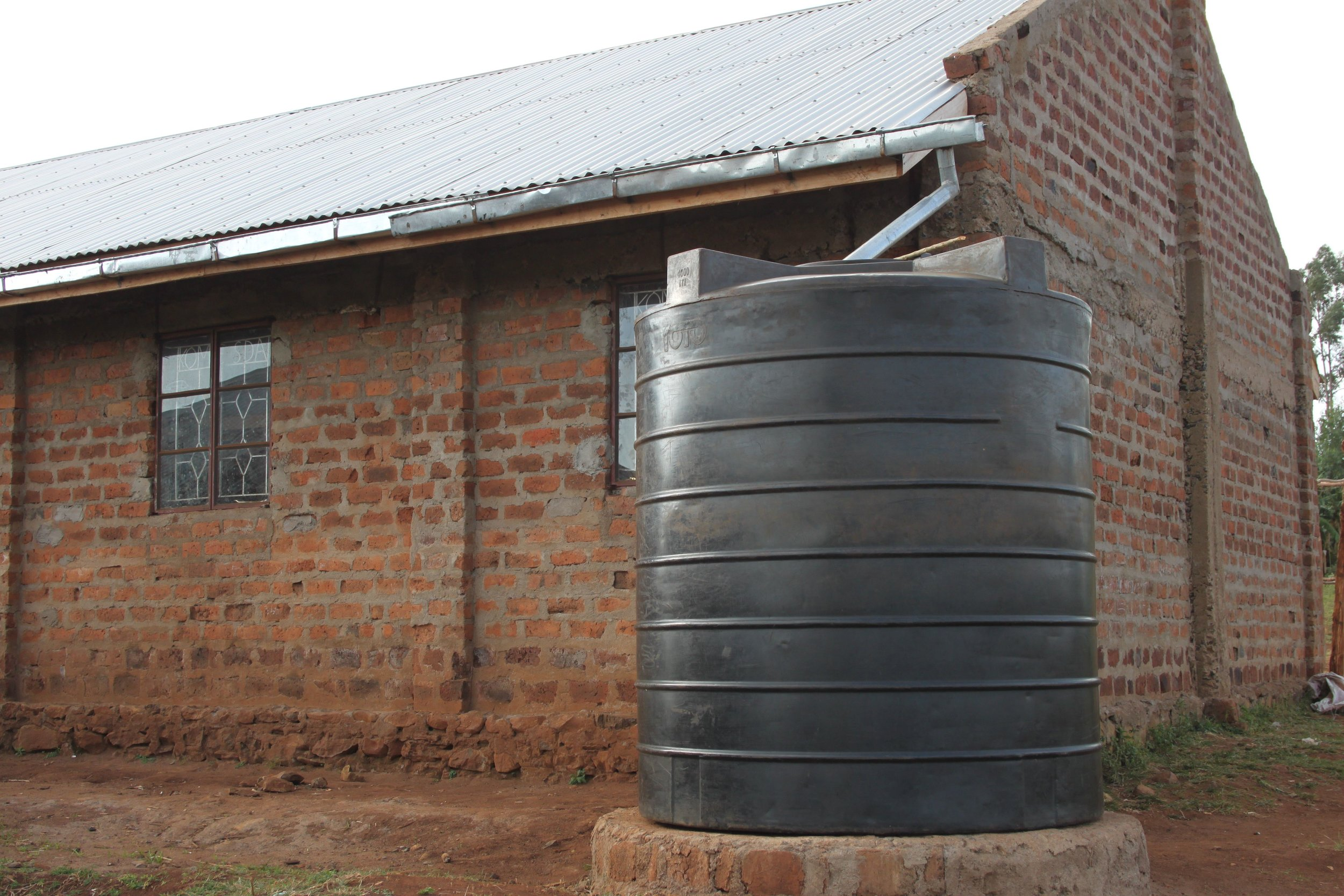 Rainwater collection and storage