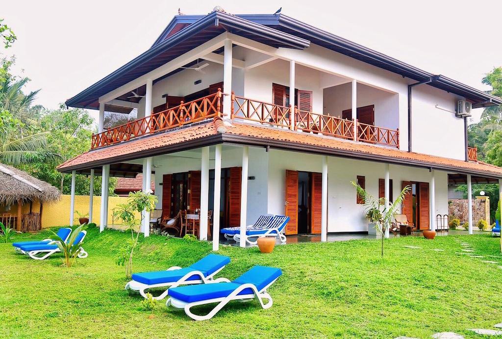 Beach Villa Lanka from the sea.jpg