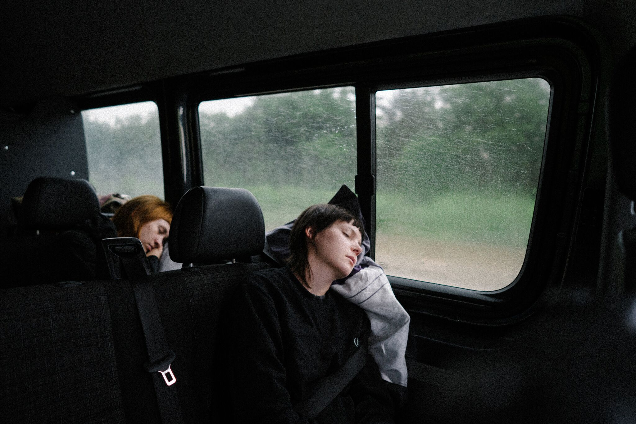 Sally and Andreya snoozing on the way to Rock im Park, captured as always by the mega talent Rowan Allen (have I mentioned that you should follow her on instagram already? Get on it now @rowanallen!)