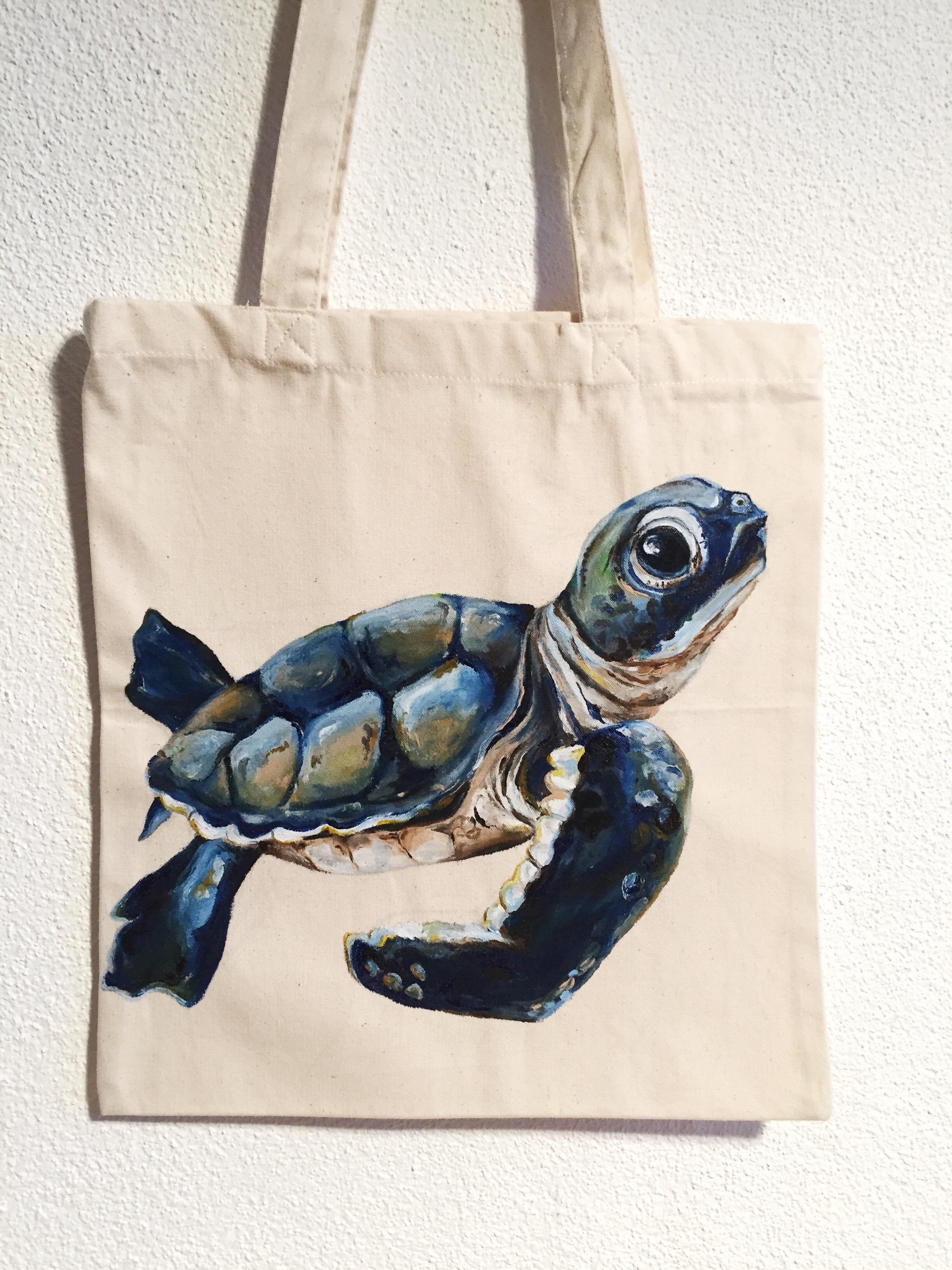 Baby Schildkröte Tasche