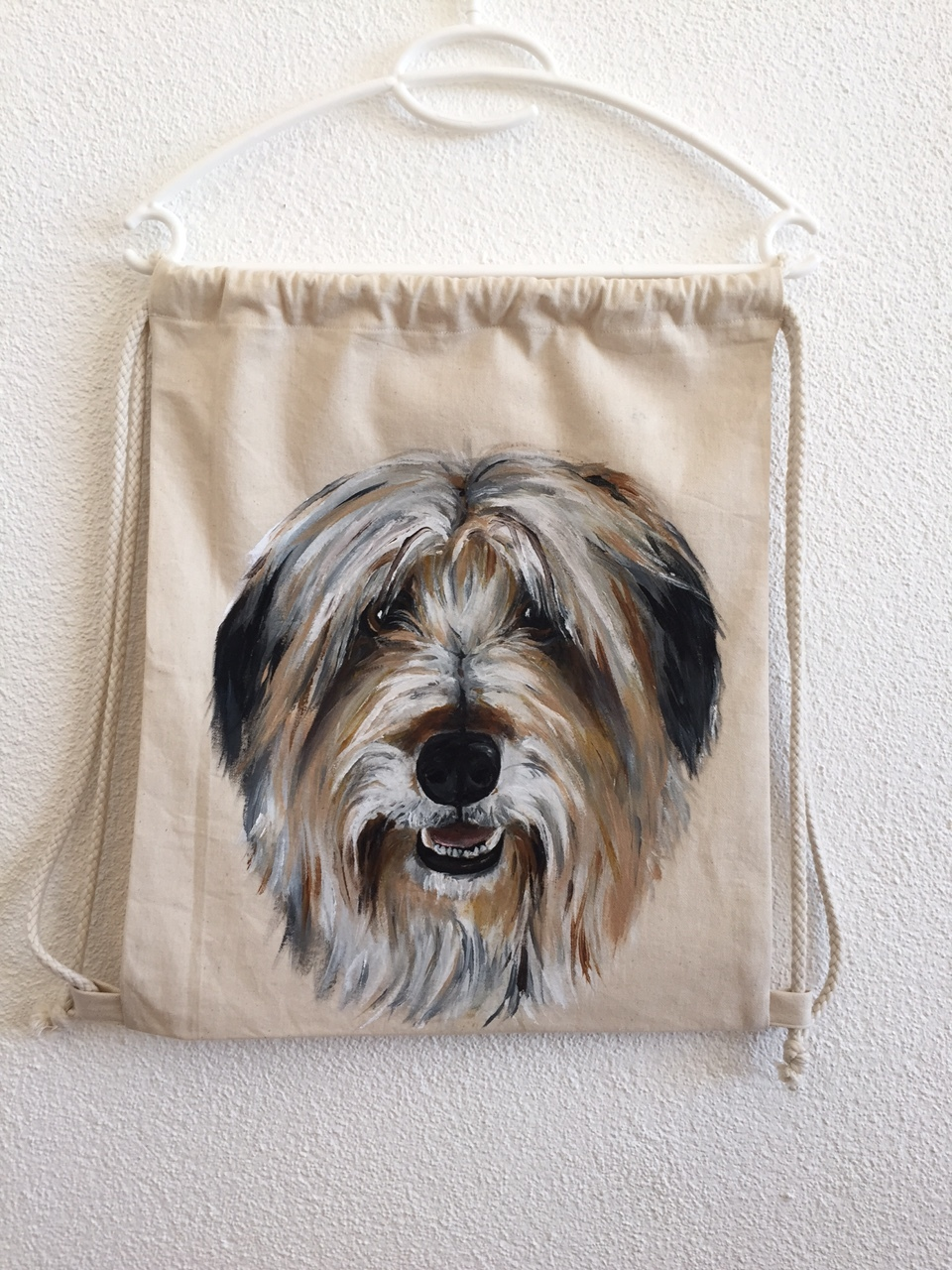 Hund Turnbeutel