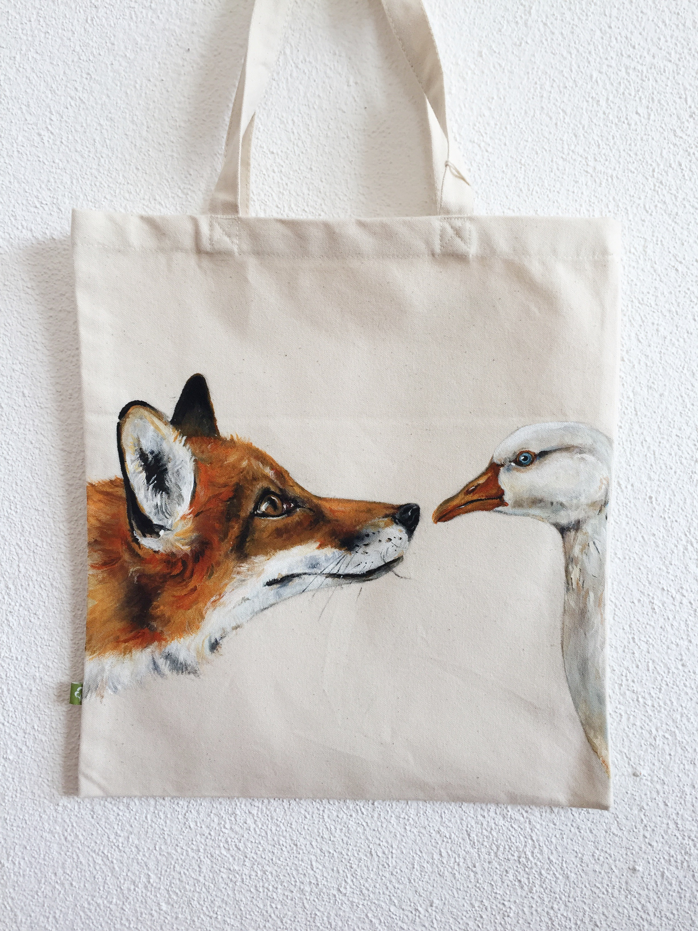 Fuchs Gans Tasche