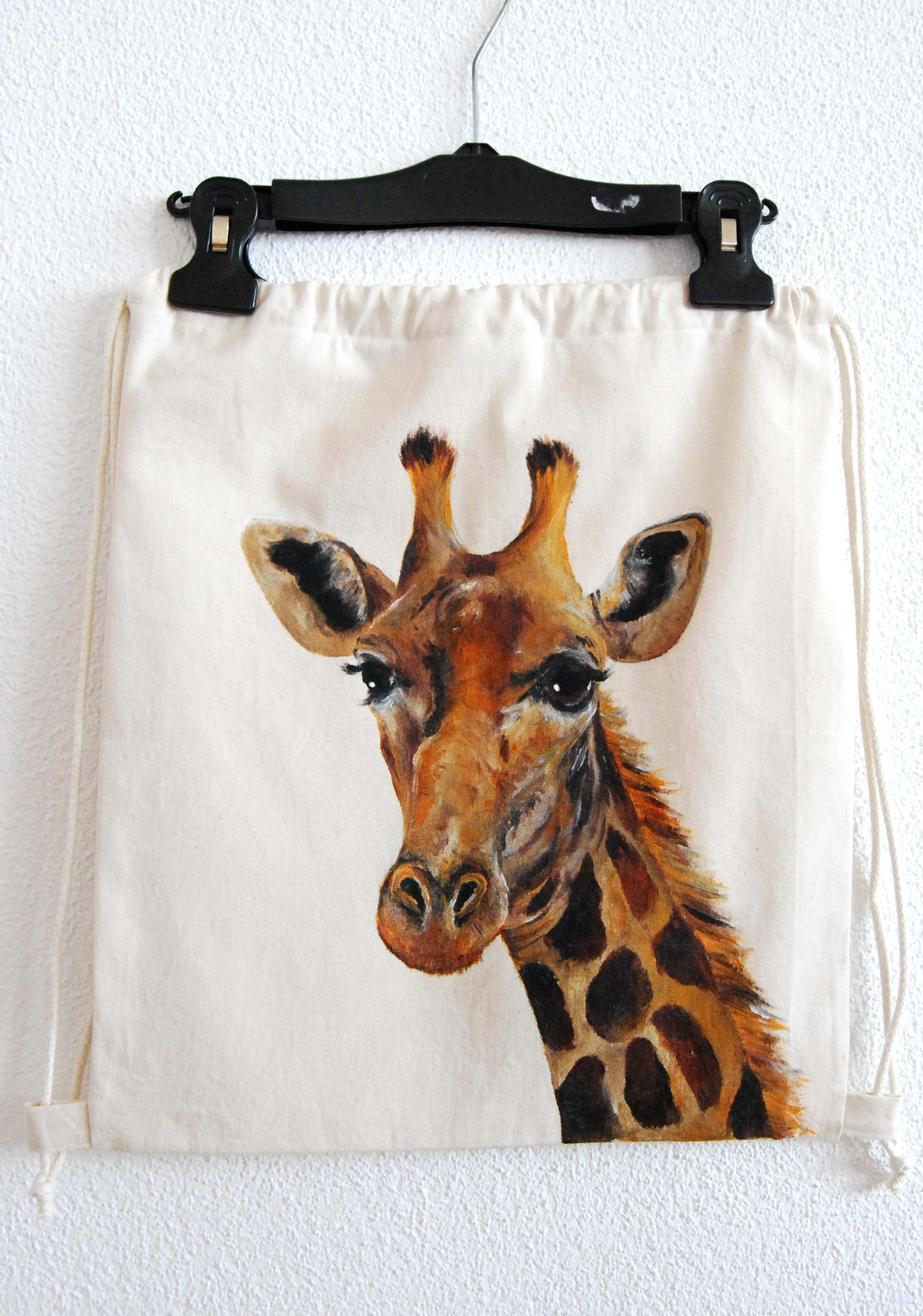 Giraffe Turnbeutel