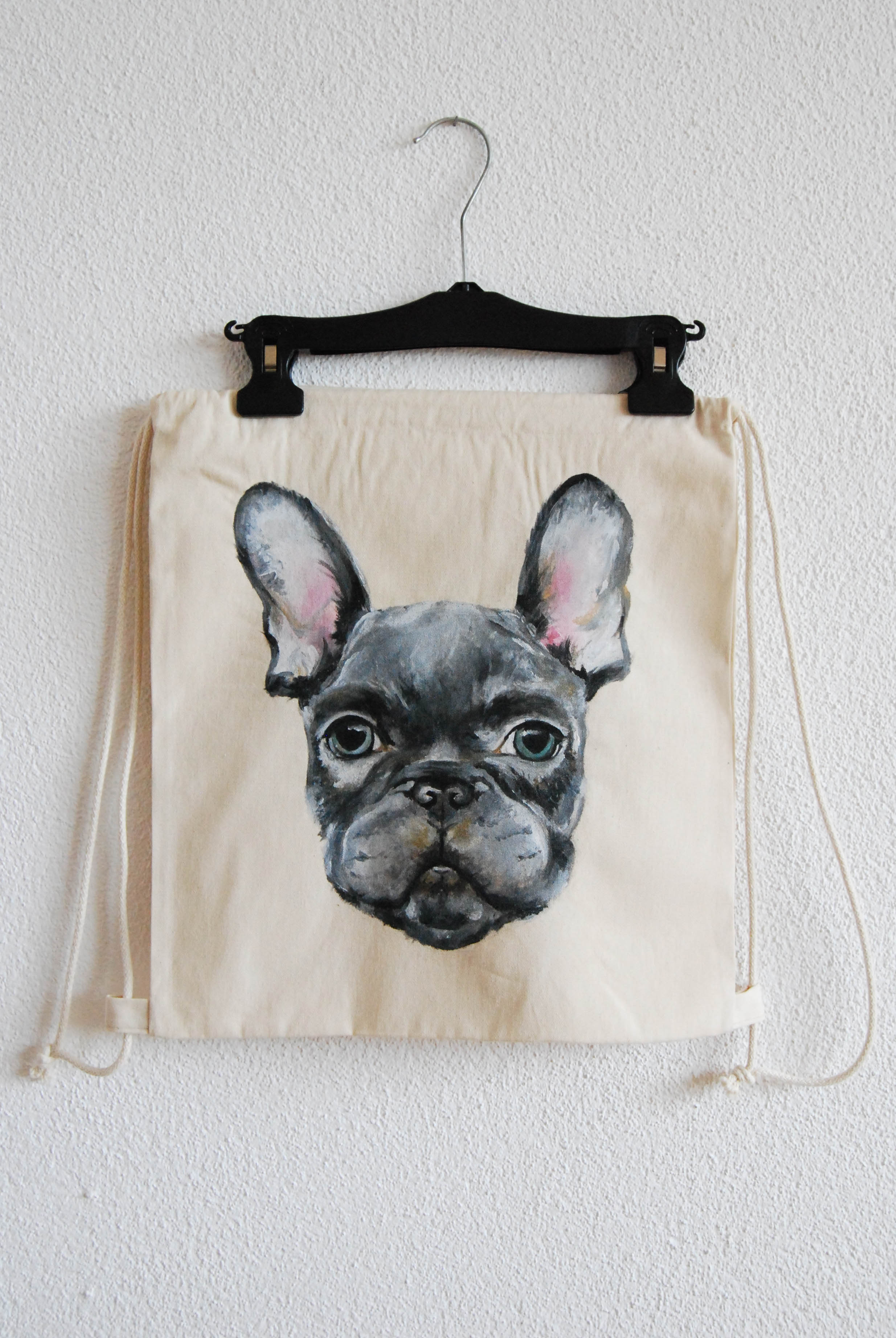 French Bulldog Turnbeutel