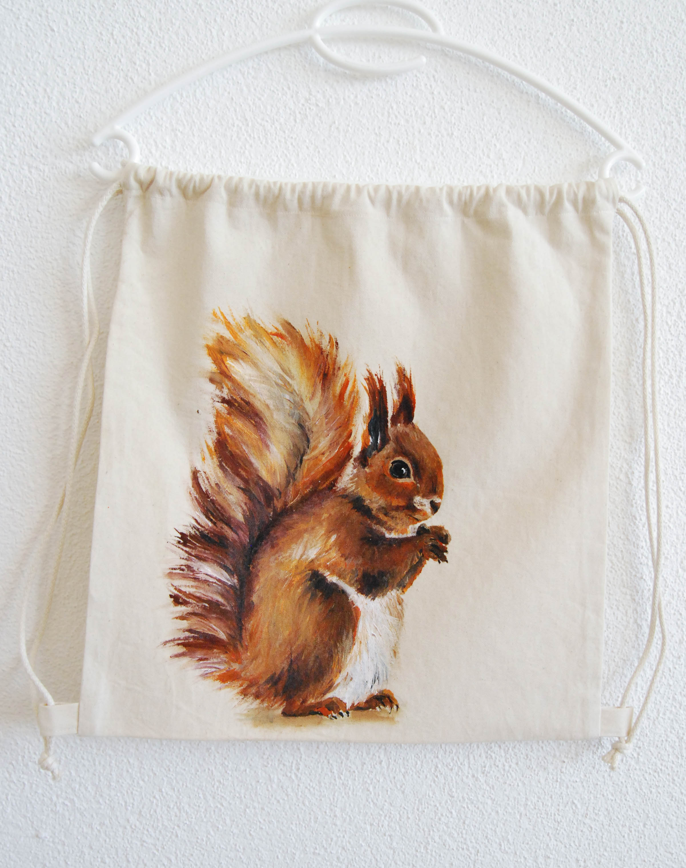 Eichhörnchen Turnbeutel