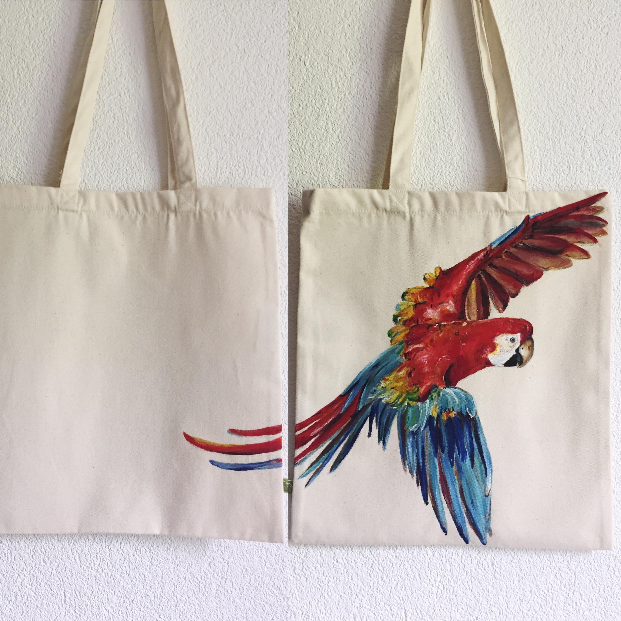 Papagei Tasche