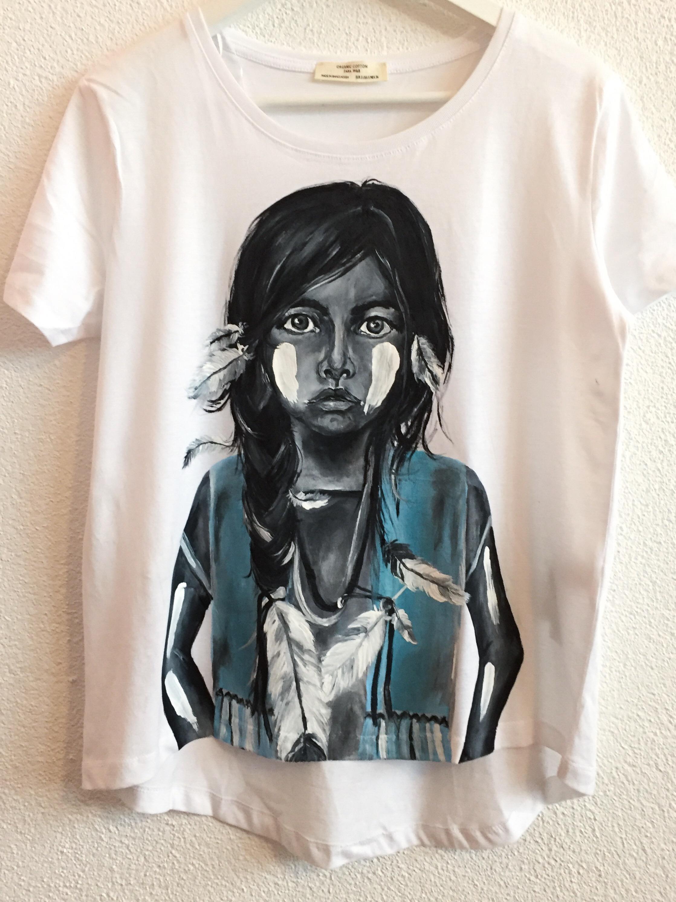 Indianermädchen Shirt