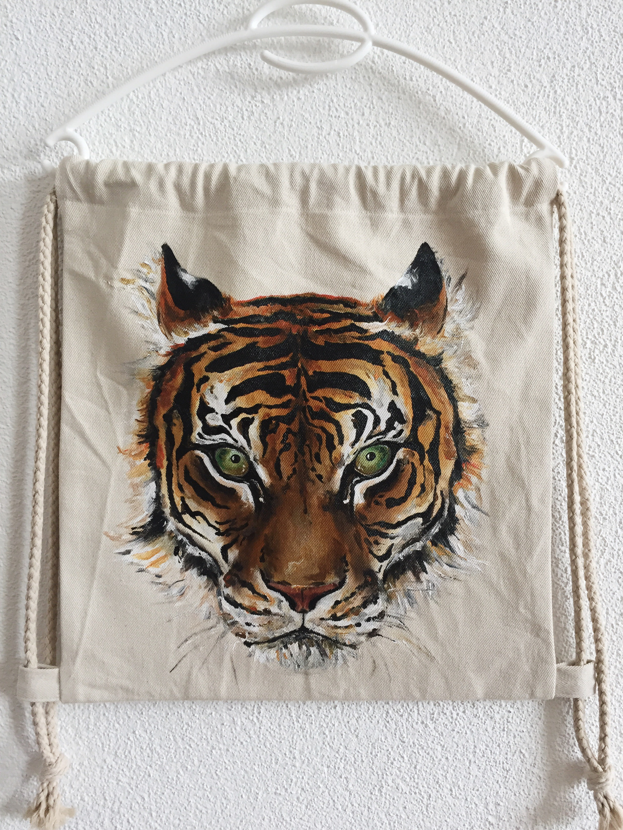 Tiger Turnbeutel