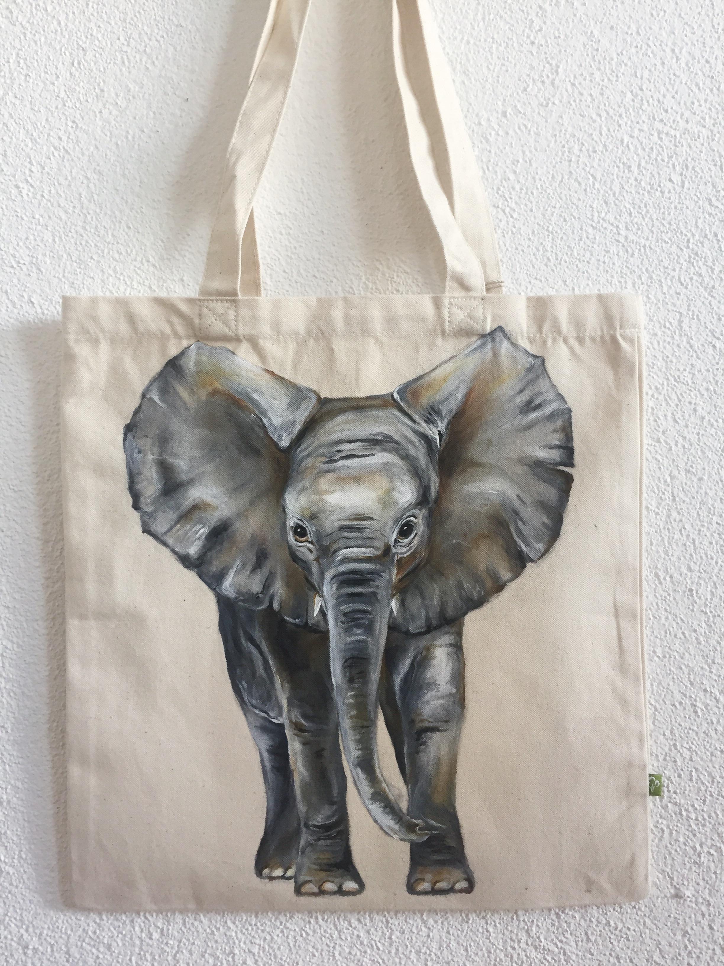 Baby Elefant Tasche