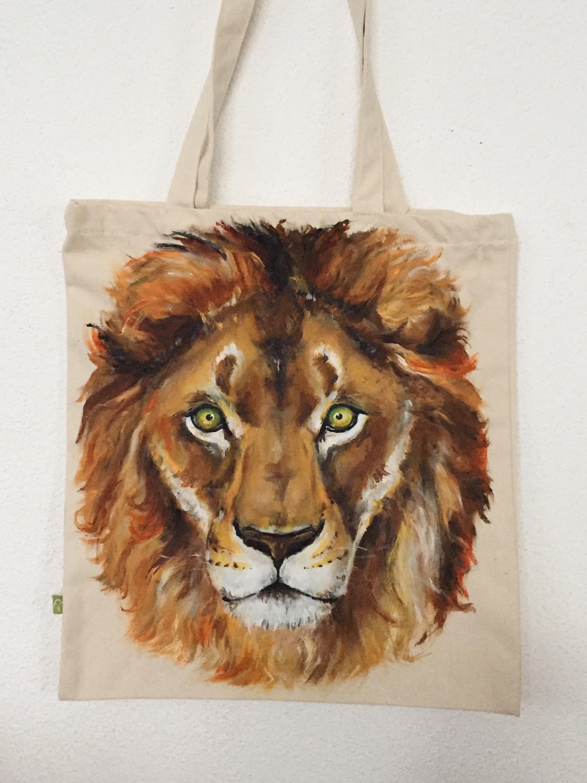 Löwe Tasche