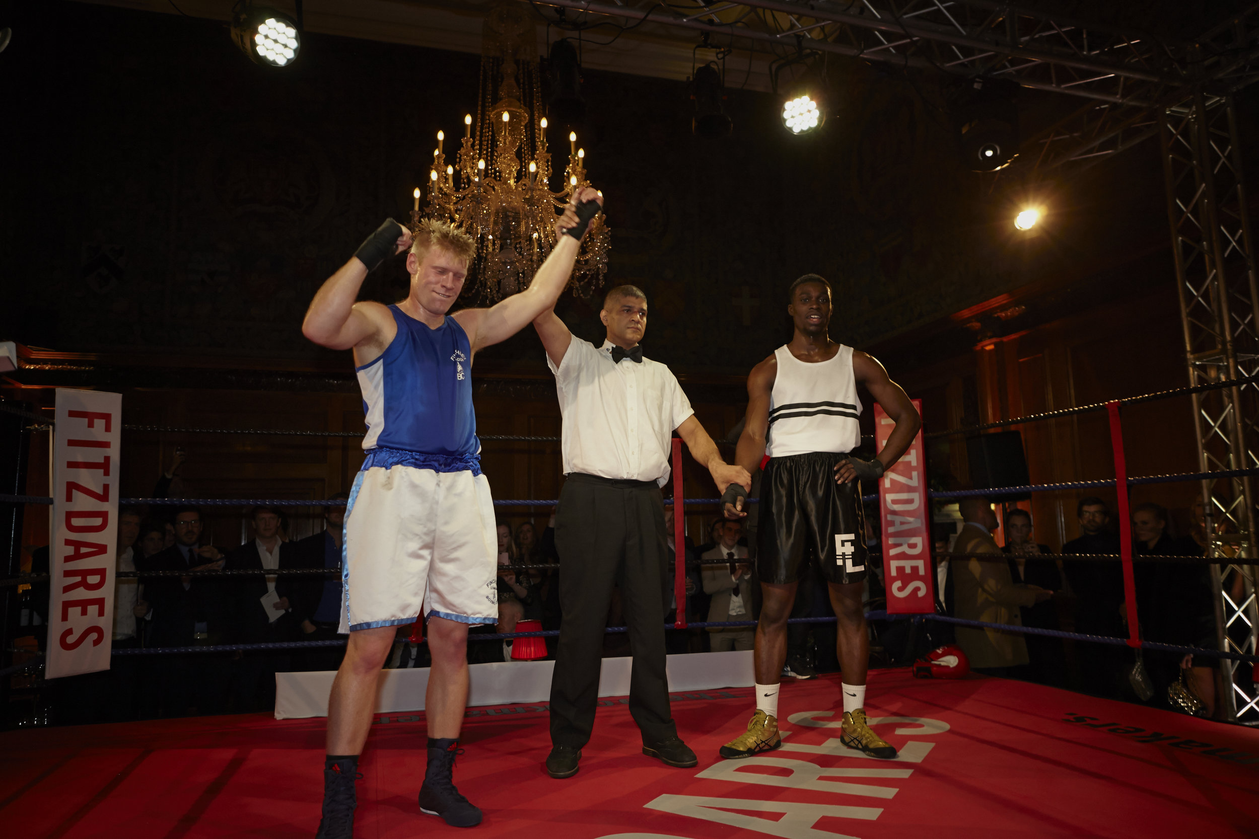 Johnstone won the first bout by split decision