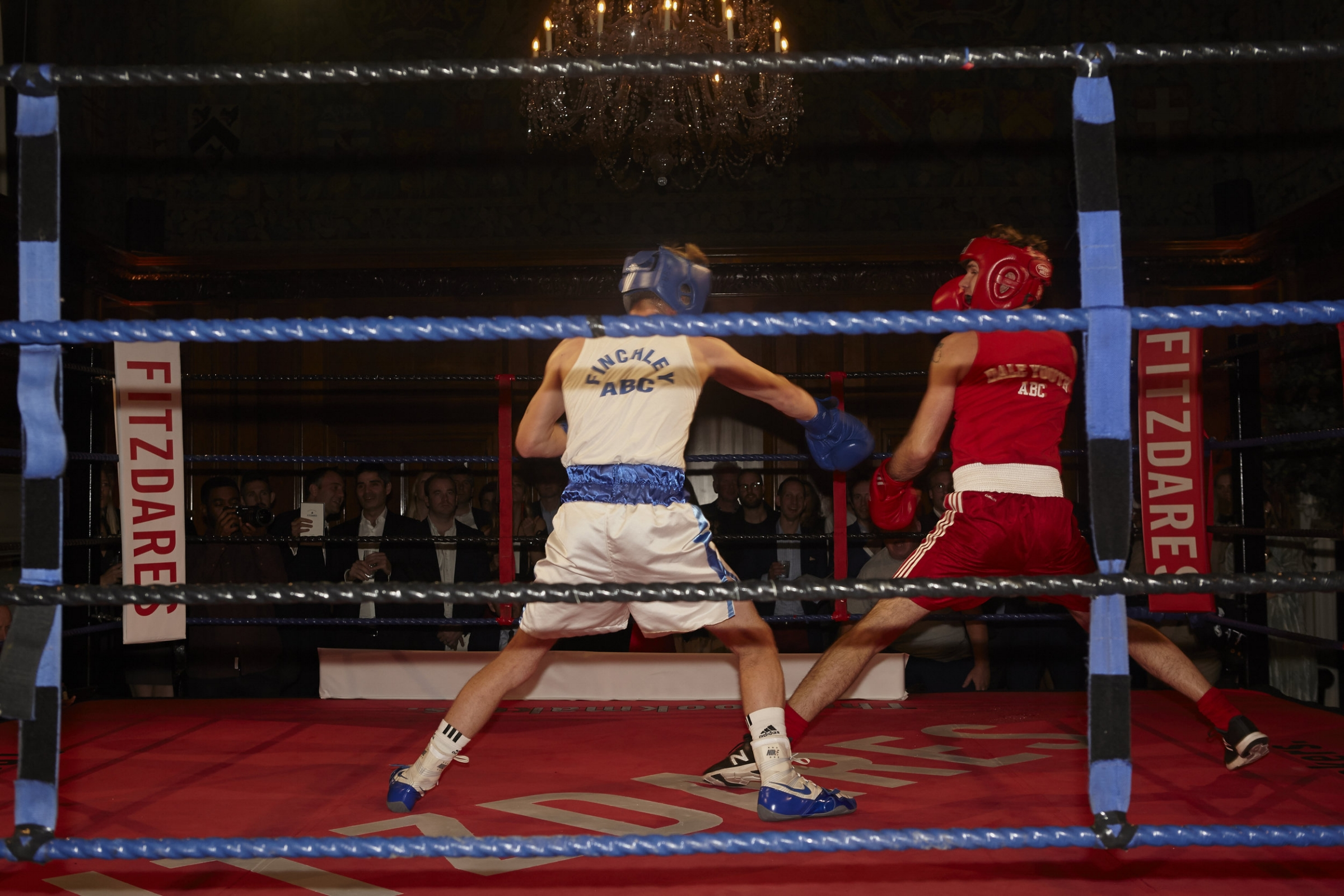 The doctor called off the final bout after Storey's opponent Kyran O'Neill took heavy damage