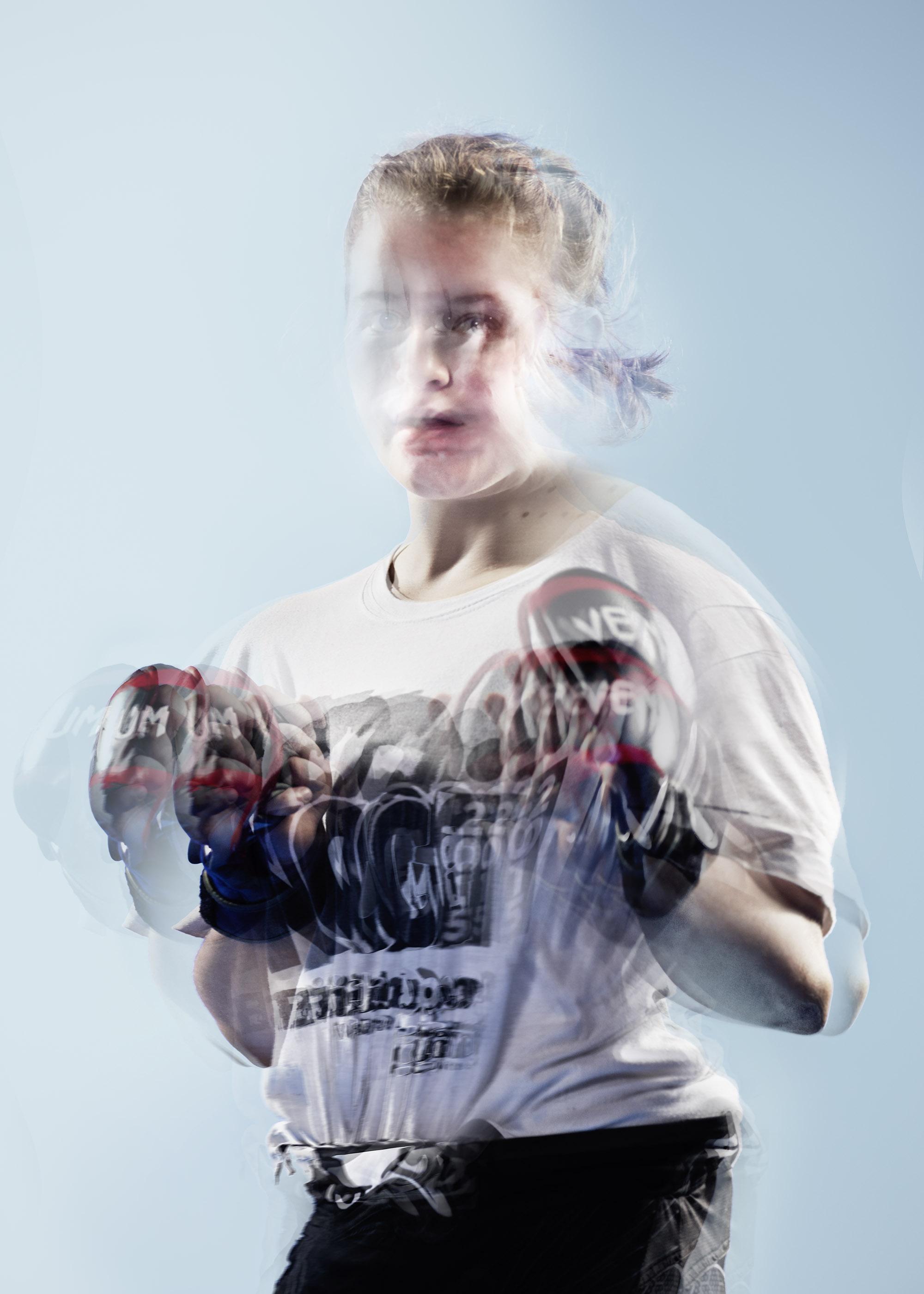 Cage Warriors straw weight phenom Cory McKenna