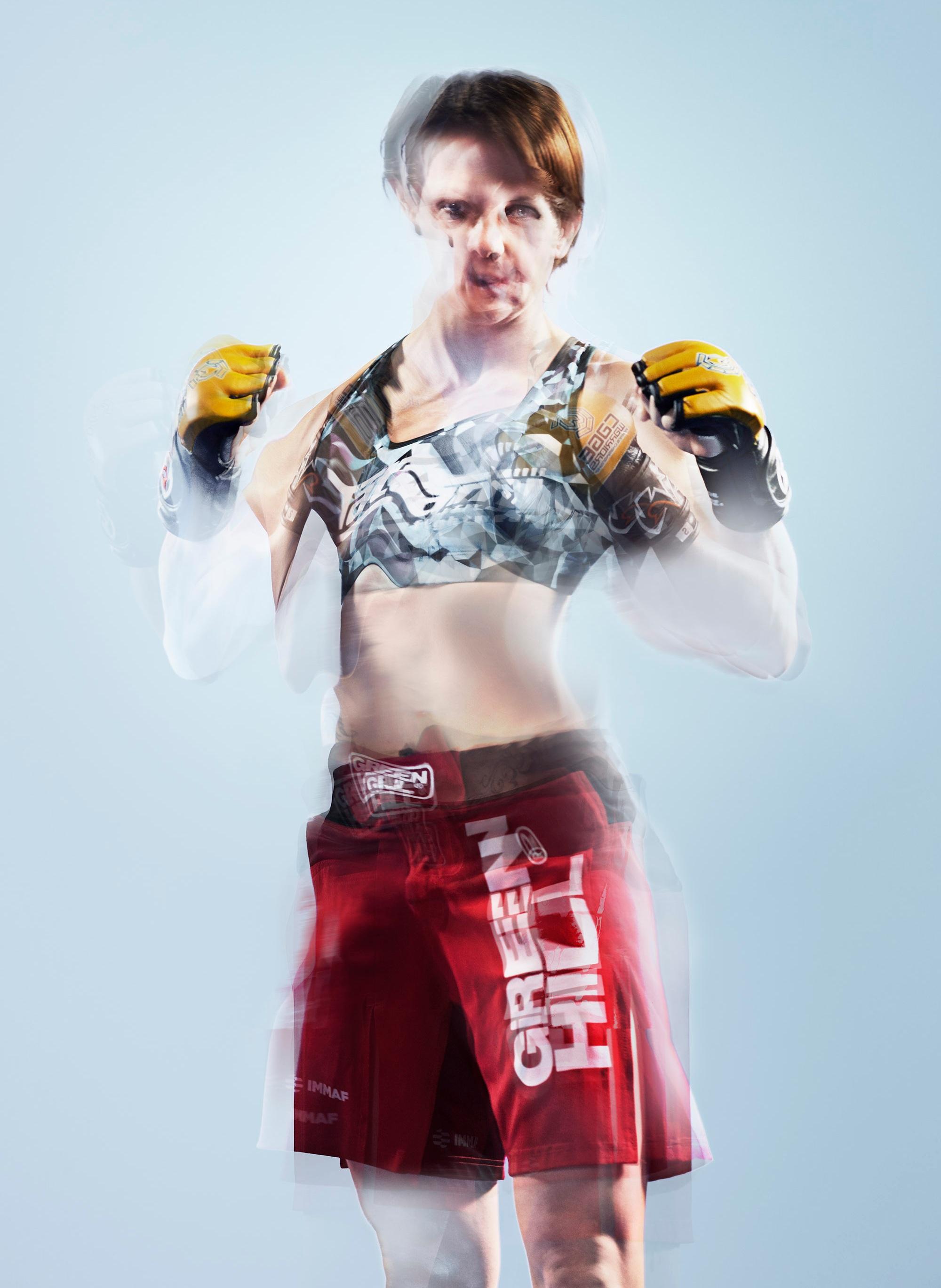 Cage Warriors fighter Wendy McKenna