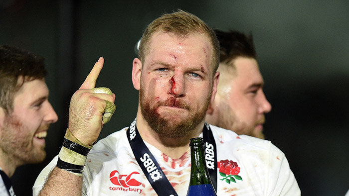 Winning rugby's Grand Slam with England